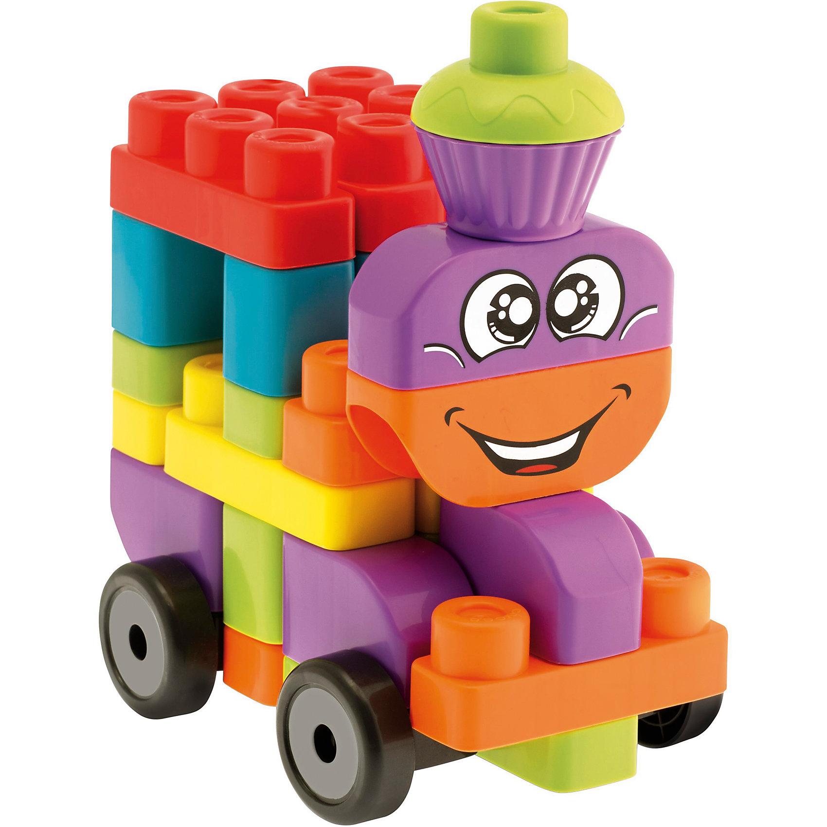"""Набор строительных блоков """"Машины"""", 40шт, CHICCO от myToys"""