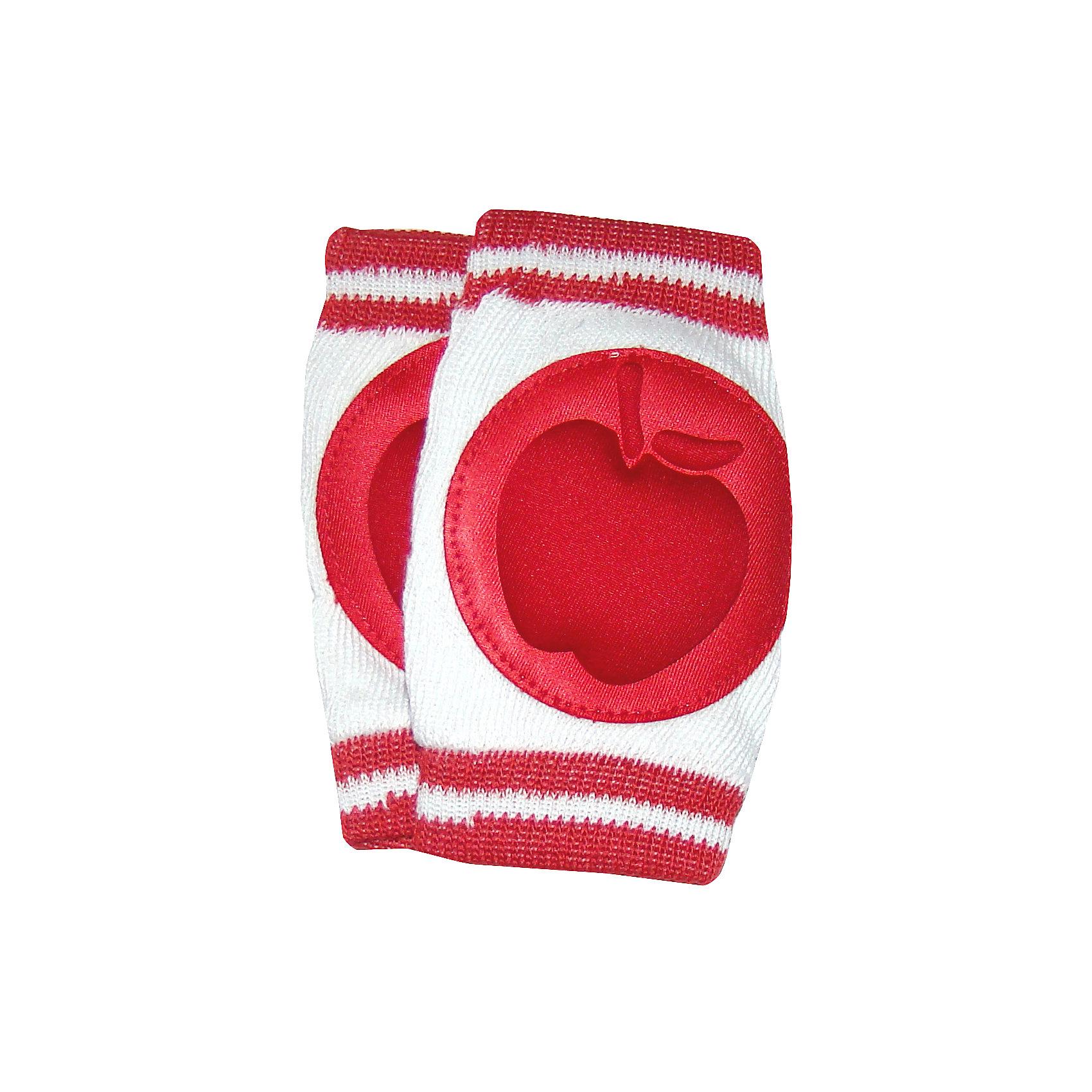 Наколенники для ползания Яблоко apl-06, СуперМаМкет, красныйХарактеристики:<br><br>• Вид детской одежды: аксессуары<br>• Предназначение: для защиты коленок <br>• Возраст: от 6 до 12 месяцев<br>• Сезон: круглый год<br>• Пол: универсальный<br>• Цвет: белый, красный<br>• Материал: текстиль, спандекс<br>• В области коленок имеются подушечки с наполнителем из губки<br>• Размеры (Ш*Г*В): 12*7*5 см<br>• Вес: 50 г <br>• Особенности ухода: допускается деликатная стирка без использования красящих и отбеливающих средств<br><br>Наколенники для ползания Яблоко apl-06, СуперМаМкет, красный от российского торгового бренда, который занимается производством текстиля для новорожденных и их мам. При изготовлении используются материалы самого высокого качества, отвечающие требованиям безопасности, комфорта и удобства использования. Наколенники предназначены для защиты коленок во время ползания. Кроме того, изделие можно использовать, когда ребенок только начинает учиться ходить, они могут обеспечить защиту от травм во время ходьбы. Наколенники для ползания Яблоко apl-06, СуперМаМкет, красный выполнены из текстиля эластичной вязки, которая позволяет легко принимать форму ноги, снизу и сверху предусмотрена плотная широкая резинка, которая обеспечивает надежную фиксацию на ножках. В области коленок предусмотрены чашечки из спандекса в форме яблока с наполнителем из губки. Все материалы, использованные при изготовлении изделия, дышащие. <br><br>Наколенники для ползания Яблоко apl-06, СуперМаМкет, красный можно купить в нашем интернет-магазине.<br><br>Ширина мм: 120<br>Глубина мм: 70<br>Высота мм: 50<br>Вес г: 50<br>Цвет: красный<br>Возраст от месяцев: 0<br>Возраст до месяцев: 6<br>Пол: Женский<br>Возраст: Детский<br>SKU: 4577550