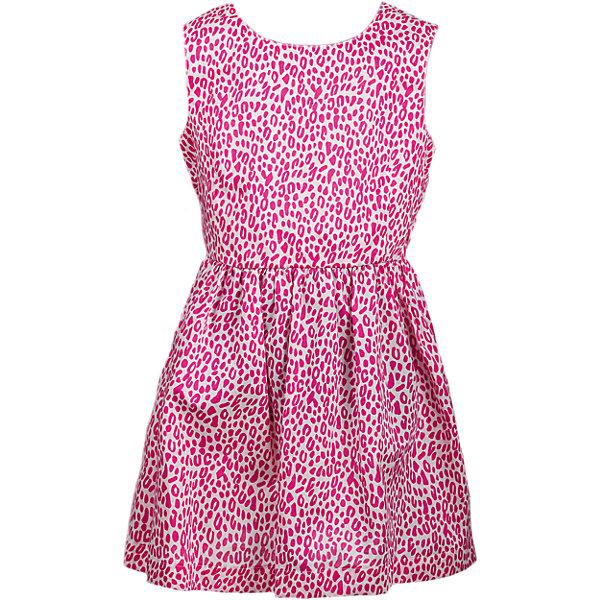Платье для девочки WOWОдежда<br>Платье для девочки от марки WOW.<br>Спинка платья полуоткрытая, с застежкой на 2 пуговицы, сзади по линии талии вставлена резинка.<br>Состав:<br>поплин 100%хлопок<br>Ширина мм: 236; Глубина мм: 16; Высота мм: 184; Вес г: 177; Цвет: розовый; Возраст от месяцев: 84; Возраст до месяцев: 96; Пол: Женский; Возраст: Детский; Размер: 128; SKU: 4578539;