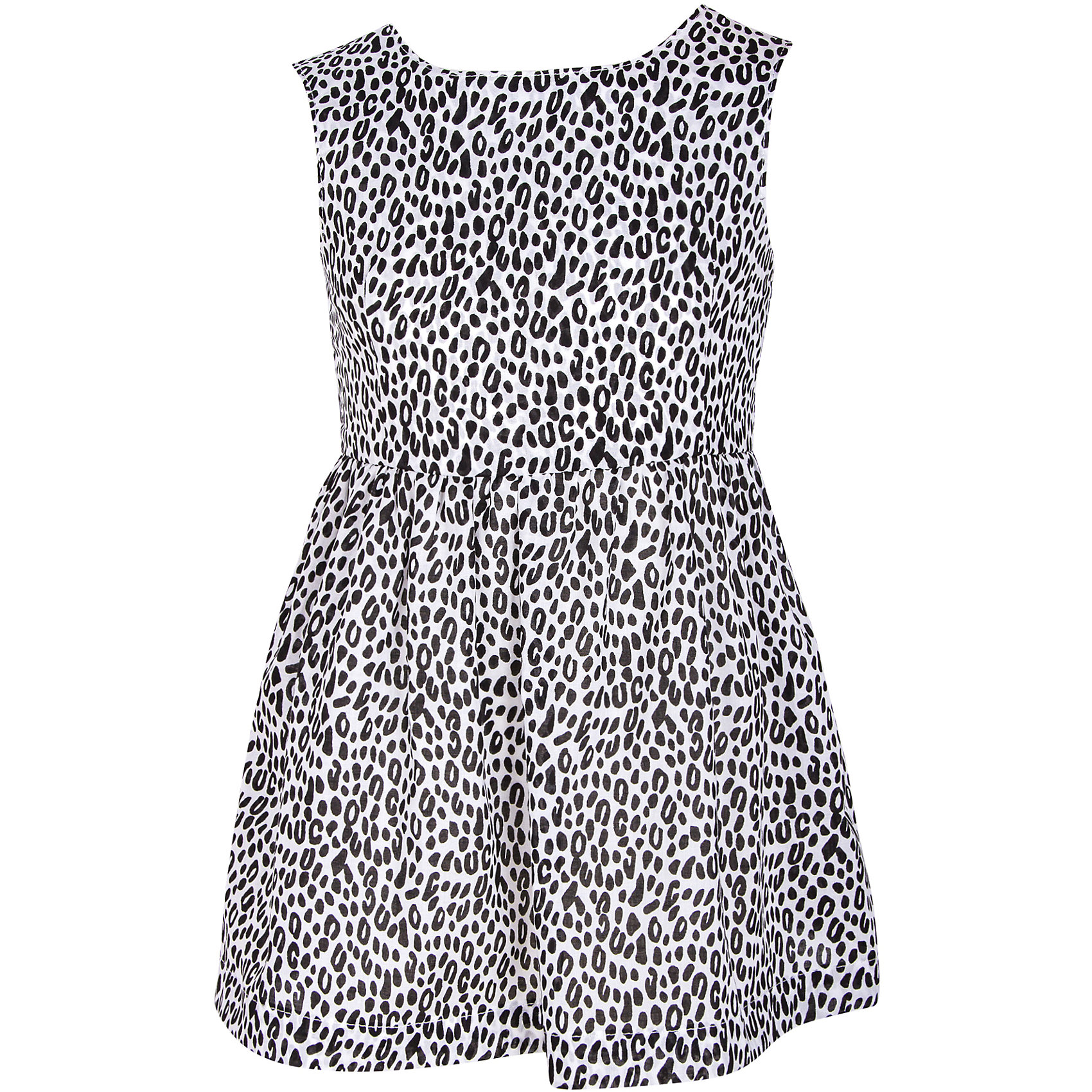 Платье для девочки WOWПлатье для девочки от марки WOW.<br>Спинка платья полуоткрытая, с застежкой на 2 пуговицы, сзади по линии талии вставлена резинка.<br>Состав:<br>поплин 100%хлопок<br><br>Ширина мм: 236<br>Глубина мм: 16<br>Высота мм: 184<br>Вес г: 177<br>Цвет: черный<br>Возраст от месяцев: 36<br>Возраст до месяцев: 48<br>Пол: Женский<br>Возраст: Детский<br>Размер: 104,98,110,128,134,122,116<br>SKU: 4578547