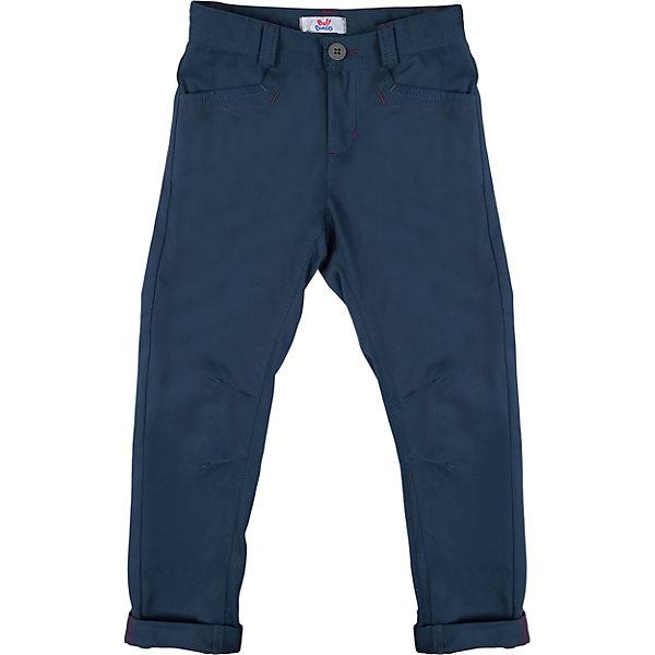 Брюки для мальчика Bell BimboБрюки<br>Брюки для мальчика от марки Bell Bimbo.<br>Однотонные брюки дополнены двумя боковыми карманами спереди, двумя накладными карманами сзади, застежка молния+пуговица,  шлёвки для ремня, манжеты<br>Состав:<br>Твил 100% хб<br><br>Ширина мм: 215<br>Глубина мм: 88<br>Высота мм: 191<br>Вес г: 336<br>Цвет: синий<br>Возраст от месяцев: 120<br>Возраст до месяцев: 132<br>Пол: Мужской<br>Возраст: Детский<br>Размер: 146,140,128,152,158,164,134<br>SKU: 4578561