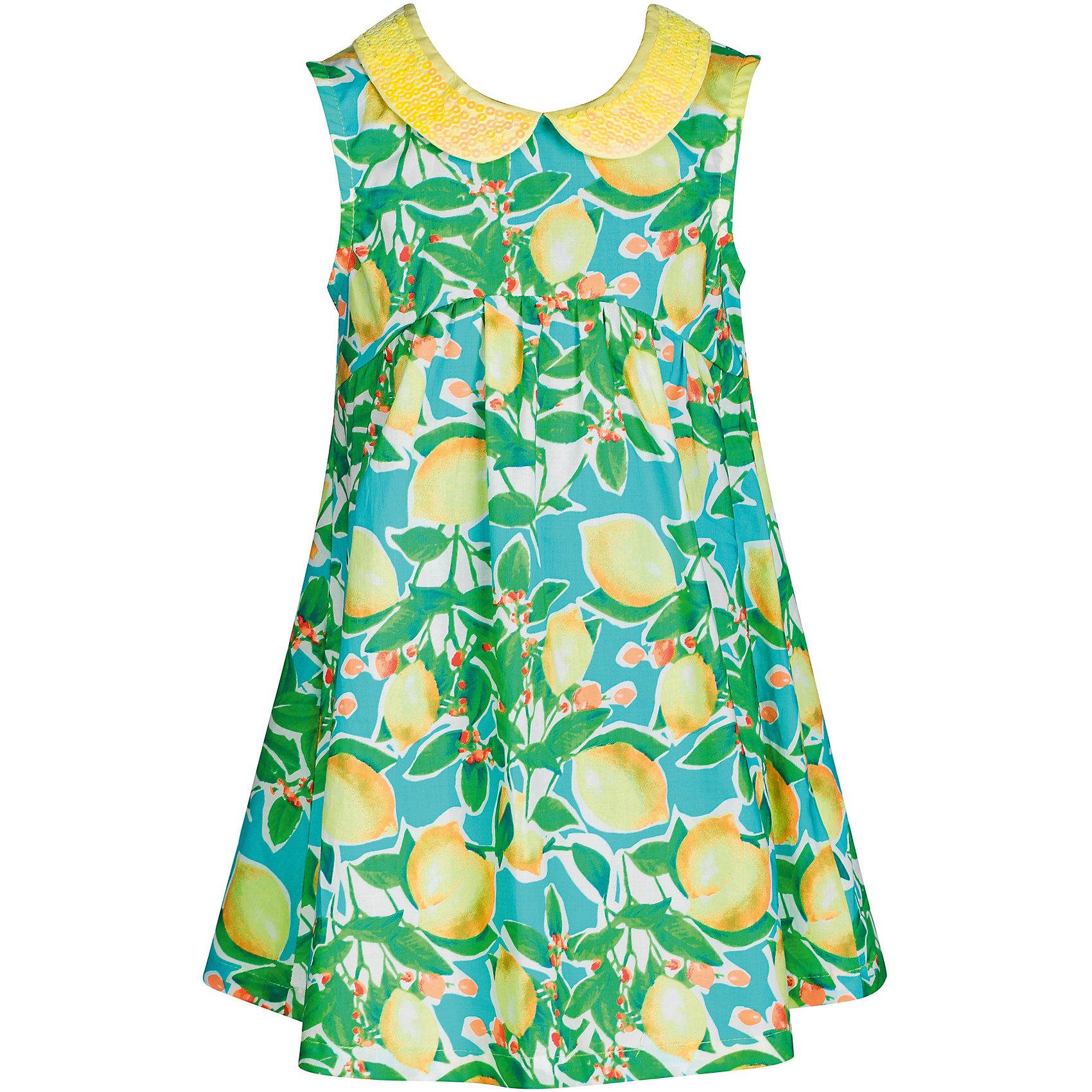 Платье для девочки Bell BimboПлатья и сарафаны<br>Платье для девочки от марки Bell Bimbo.<br>Платье с ярким принтом дополнено отложным воротником, украшенным пайетками, сзади застежка на молнии <br>Состав:<br>Поплин 100% хлопок<br><br>Ширина мм: 236<br>Глубина мм: 16<br>Высота мм: 184<br>Вес г: 177<br>Цвет: белый<br>Возраст от месяцев: 24<br>Возраст до месяцев: 36<br>Пол: Женский<br>Возраст: Детский<br>Размер: 98,104,110,122,116<br>SKU: 4578582