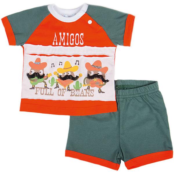 Комплект: футболка и шорты для мальчика Бимоша