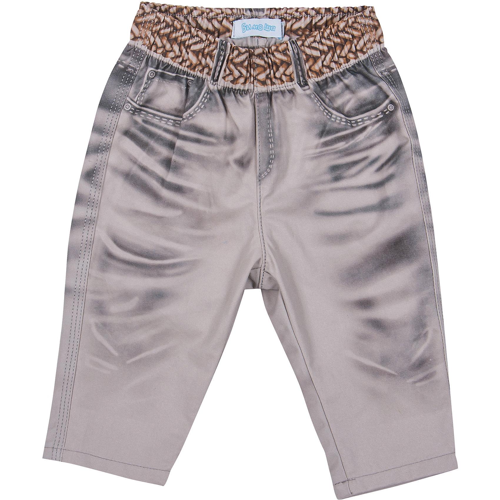Брюки для мальчика БимошаПолзунки и штанишки<br>Брюки для мальчика от марки Бимоша.<br>Однотонные брюки на широкой резинке, сзади два кармана<br>Состав:<br>твил 100%хлопок<br><br>Ширина мм: 215<br>Глубина мм: 88<br>Высота мм: 191<br>Вес г: 336<br>Цвет: серый<br>Возраст от месяцев: 9<br>Возраст до месяцев: 12<br>Пол: Мужской<br>Возраст: Детский<br>Размер: 92,80,86,74,68<br>SKU: 4578866