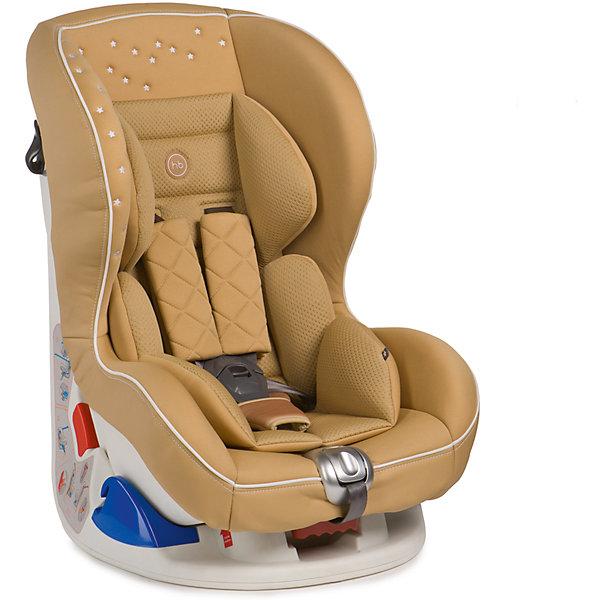 Автокресло Happy Baby Taurus V2, 0-18 кг, бежевыйГруппа 0-1 (до 18 кг)<br>Автокресло TAURUS V2 это удобное, повышенной комфортности кресло для детей до 18 кг (группа 0+/1). Съемный чехол автокресла создан из высококачественной, приятной на ощупь эко-кожи и имеет текстильный матрасик, который создает дополнительный комфорт для ребенка. Безопасность гарантируют пятиточечные ремни безопасности с мягкими накладками, а дополнительная анатомическая вкладка позволит занять малышу уютное правильное положение. Модель TAURUS V2 имеет выдвижную опору для дополнительного угла наклона и устанавливается лицом по ходу или против движения автомобиля, в зависимости от возраста и веса ребенка. Дизайн выполнен с использованием декоративной вышивки и стежки, что создает неповторимый стильный образ автокресла. Внешний вид TAURUS V2 подчеркнет изысканный вкус родителей и украсит салон вашего автомобиля.<br><br>Дополнительная информация:<br><br>Регулируемая высота плечевых ремней и подголовника, 4 положения<br>Четыре положения наклона: 3 положения регулируется наклоном спинки + доп. наклон за счет выдвижной опоры<br>Пятиточечные ремни безопасности<br>Защита от боковых ударов<br>Фиксатор натяжения ремня<br>Съемный чехол<br>Мягкая фактурная вкладка<br>СОСТАВ<br>Каркас: пластик, металл<br>Тканые материалы: 100 % полиуретан (экокожа), 100 % полиэстер<br>Группа: 0/I<br>Вес ребенка: до 18 кг<br>Габариты автокресла (ВхШхГ): 48*47*65,8 см<br>Ширина посадочного места с вкладкой/без вкладки: 29/22 см<br>Глубина посадочного места с вкладкой/без вкладки: 26/30 см<br>Длинна спального места с вкладкой/без вкладки: 78/80 см<br>Вес автокресла: 7,7 кг<br>Крепится штатным ремнем безопасности: да<br>Ремни безопасности: 5-точечные<br>Трансформируется в бустер: нет<br>Регулируемый наклон спинки: 3+ 1 доп.наклон<br><br><br>Автокресло Taurus V2, 0-18 кг., Happy Baby, бежевый можно купить в нашем магазине.<br><br>Ширина мм: 460<br>Глубина мм: 610<br>Высота мм: 855<br>Вес г: 9150<br>Цвет: бежевый<br>Возраст от ме
