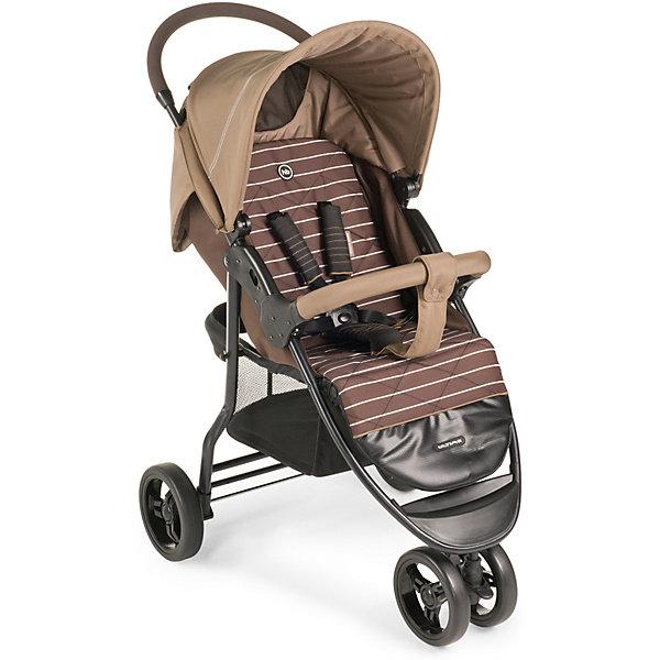 Прогулочная коляска Happy Baby Ultima, бежевыйПрогулочные коляски<br>Сдвоенное переднее колесо коляски ULTIMA обеспечит высокую<br>надежность и максимальную устойчивость. Возможность<br>переключения режима передних колес (фиксированный или<br>поворотный) превращает коляску в настоящий внедорожник-<br>вездеход. ULTIMA имеет просторное посадочное место, в котором не будет тесно даже крупным деткам. При весе всего 8,5кг коляска имеет амортизацию на передних и задних колесах, съемный бампер, регулируемую в 3 положениях подножку, большой капор со смотровым окном и прозрачной пленкой, пятиточечные ремни безопасности с мягкими накладками, удобную тормозную систему. <br><br>Дополнительная информация:<br><br>Максимальный вес ребенка: 15 кг<br>Ширина сиденья: 34 см<br>Глубина сиденья: 21 см +24 см (подножка)<br>Длина спинки: 40см<br>Длина спального места: 85 см<br>Кол-во положений спинки: не ограничено (плавная регулировка)<br>Углы наклона спинки: от 90° до 180°<br>Диаметр колес: переднее — 19 , заднее — 19,5 см<br>Высота ручки не регулируется<br>Подножка регулируется: 3 положения<br>Задние колеса оснащены тормозным механизмом<br>Амортизация передних и задних колес<br>Съемный бампер<br>Вес коляски: 8,5 кг<br>В комплекте: дождевик, чехол на ножки, москитная сетка, корзина для покупок.<br><br>Прогулочную коляску Ultima, Happy Baby, бежевый можно купить в нашем магазине.<br><br>Ширина мм: 255<br>Глубина мм: 490<br>Высота мм: 830<br>Вес г: 10600<br>Цвет: бежевый<br>Возраст от месяцев: 7<br>Возраст до месяцев: 36<br>Пол: Унисекс<br>Возраст: Детский<br>SKU: 4580583