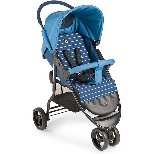 Прогулочная коляска Happy Baby Ultima, голубойПрогулочные коляски<br>Сдвоенное переднее колесо коляски ULTIMA обеспечит высокую<br>надежность и максимальную устойчивость. Возможность<br>переключения режима передних колес (фиксированный или<br>поворотный) превращает коляску в настоящий внедорожник-<br>вездеход. ULTIMA имеет просторное посадочное место, в котором не будет тесно даже крупным деткам. При весе всего 8,5кг коляска имеет амортизацию на передних и задних колесах, съемный бампер, регулируемую в 3 положениях подножку, большой капор со смотровым окном и прозрачной пленкой, пятиточечные ремни безопасности с мягкими накладками, удобную тормозную систему. <br><br>Дополнительная информация:<br><br>Максимальный вес ребенка: 15 кг<br>Ширина сиденья: 34 см<br>Глубина сиденья: 21 см +24 см (подножка)<br>Длина спинки: 40см<br>Длина спального места: 85 см<br>Кол-во положений спинки: не ограничено (плавная регулировка)<br>Углы наклона спинки: от 90° до 180°<br>Диаметр колес: переднее — 19 , заднее — 19,5 см<br>Высота ручки не регулируется<br>Подножка регулируется: 3 положения<br>Задние колеса оснащены тормозным механизмом<br>Амортизация передних и задних колес<br>Съемный бампер<br>Вес коляски: 8,5 кг<br>В комплекте: дождевик, чехол на ножки, москитная сетка, корзина для покупок.<br><br>Прогулочную коляску Ultima, Happy Baby, голубой можно купить в нашем магазине.<br>Ширина мм: 255; Глубина мм: 490; Высота мм: 830; Вес г: 10600; Цвет: голубой; Возраст от месяцев: 7; Возраст до месяцев: 36; Пол: Унисекс; Возраст: Детский; SKU: 4580584;