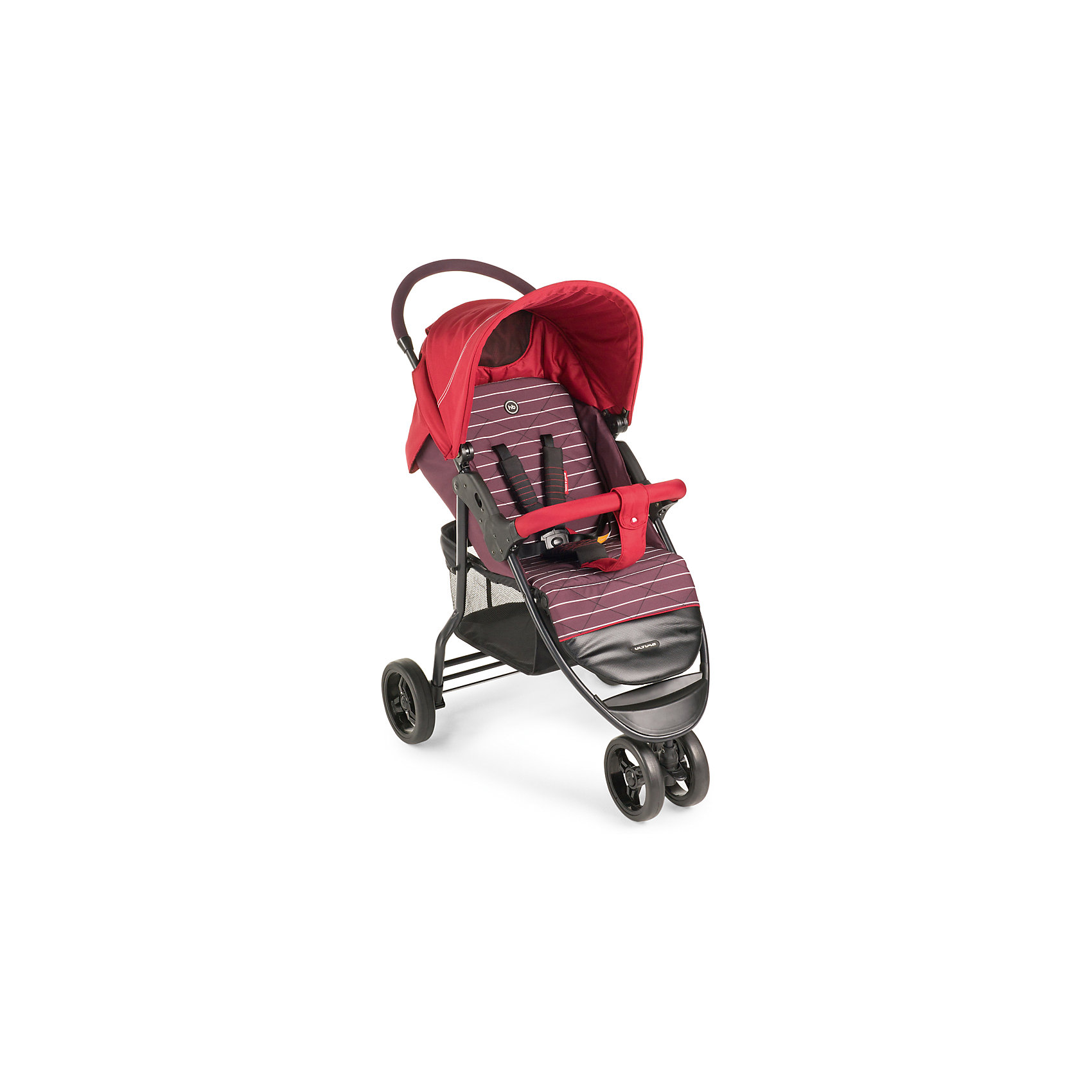 Прогулочная коляска Ultima, Happy Baby, красныйСдвоенное переднее колесо коляски ULTIMA обеспечит высокую<br>надежность и максимальную устойчивость. Возможность<br>переключения режима передних колес (фиксированный или<br>поворотный) превращает коляску в настоящий внедорожник-<br>вездеход. ULTIMA имеет просторное посадочное место, в котором не будет тесно даже крупным деткам. При весе всего 8,5кг коляска имеет амортизацию на передних и задних колесах, съемный бампер, регулируемую в 3 положениях подножку, большой капор со смотровым окном и прозрачной пленкой, пятиточечные ремни безопасности с мягкими накладками, удобную тормозную систему. <br><br>Дополнительная информация:<br><br>Максимальный вес ребенка: 15 кг<br>Ширина сиденья: 34 см<br>Глубина сиденья: 21 см +24 см (подножка)<br>Длина спинки: 40см<br>Длина спального места: 85 см<br>Кол-во положений спинки: не ограничено (плавная регулировка)<br>Углы наклона спинки: от 90° до 180°<br>Диаметр колес: переднее — 19 , заднее — 19,5 см<br>Высота ручки не регулируется<br>Подножка регулируется: 3 положения<br>Задние колеса оснащены тормозным механизмом<br>Амортизация передних и задних колес<br>Съемный бампер<br>Вес коляски: 8,5 кг<br>В комплекте: дождевик, чехол на ножки, москитная сетка, корзина для покупок.<br><br>Прогулочную коляску Ultima, Happy Baby, красный можно купить в нашем магазине.<br><br>Ширина мм: 255<br>Глубина мм: 490<br>Высота мм: 830<br>Вес г: 10600<br>Цвет: красный<br>Возраст от месяцев: 7<br>Возраст до месяцев: 36<br>Пол: Унисекс<br>Возраст: Детский<br>SKU: 4580585