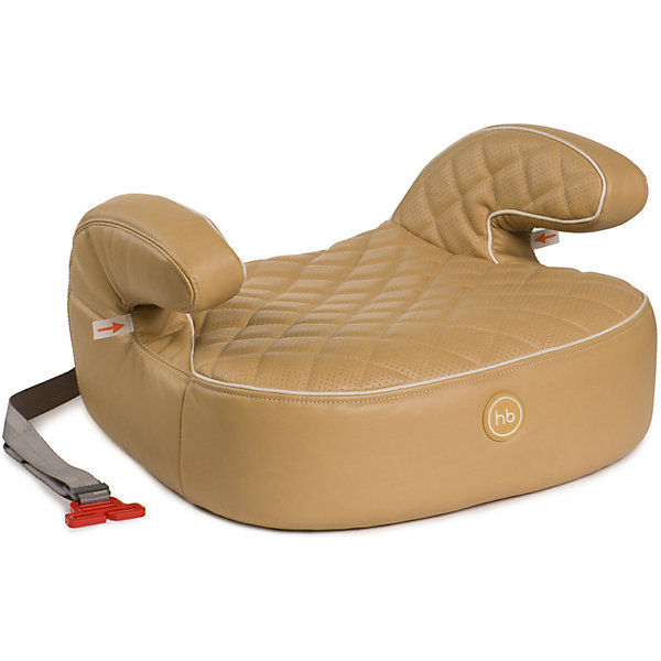 Автокресло-бустер Happy Baby Rider Deluxe, 15-36 кг, бежевый