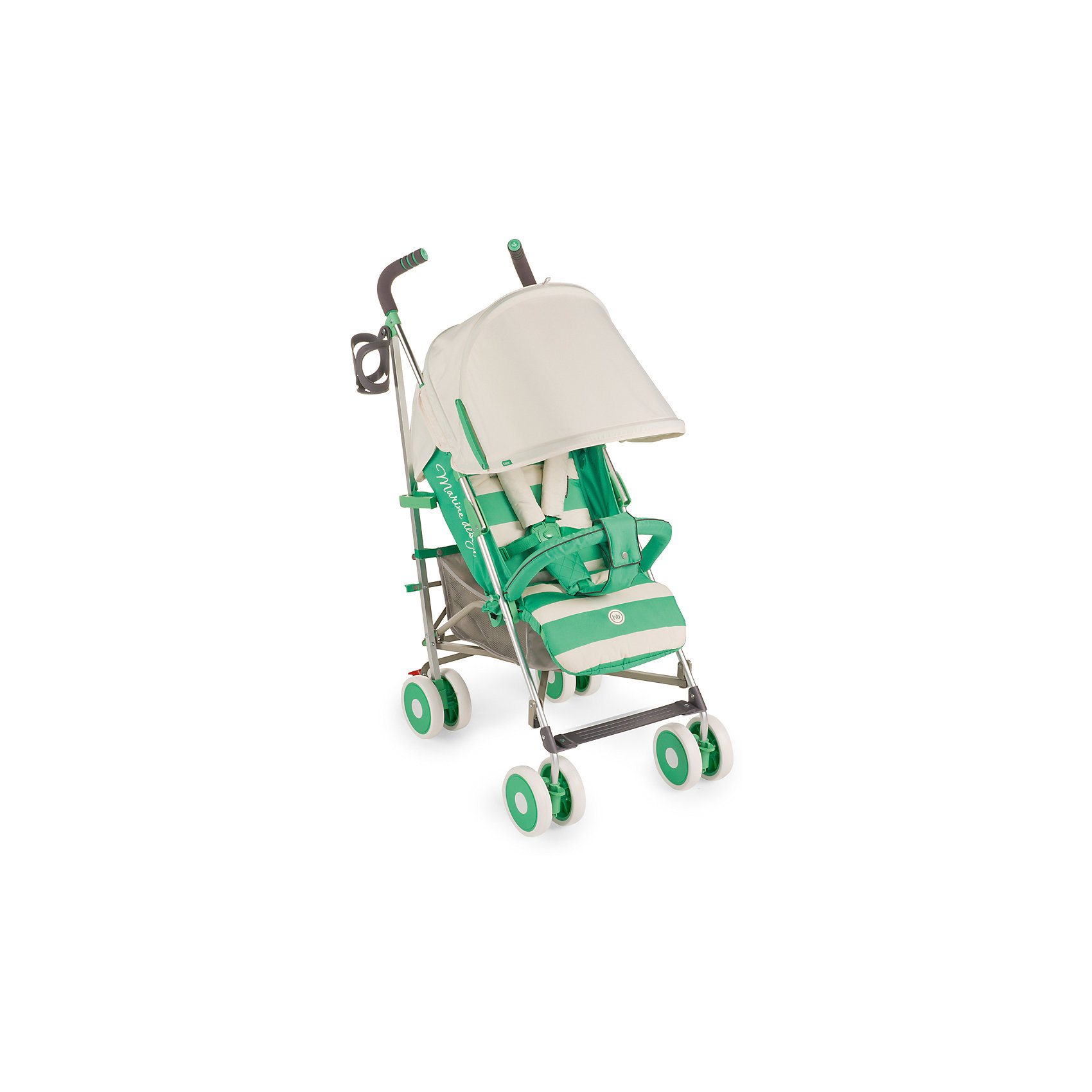 Коляска-трость Cindy, Happy Baby, зеленыйВНИМАНИЕ!!! Первая партия данной модели коляски в комплектации БЕЗ РАЗДЕЛИТЕЛЯ ДЛЯ НОЖЕК. Последующие партии будут приходить с разделителем. <br><br>* До полного обнуления стока по первой партии возможны две комплектации коляски – с разделителем для ног и без него. <br><br>Благодаря современному дизайну и продуманным функциям коляска Cindy подарит удовольствие от использования и малышу, и маме. Пятиточечные ремни безопасности с мягкими накладками надежно и комфортно зафиксируют ребёнка в коляске. Солнцезащитный козырёк опускается до съемного бампера, а спинка и подножка регулируются в трех положениях. Съемная подушка-подголовник и горизонтальный наклон спинки позволят малышу отдохнуть на свежем воздухе. Передние поворотные колеса с возможностью фиксации обеспечат прекрасную маневренность, а тормозной механизм на задних колесах надежно зафиксирует коляску. Большая вместительная корзина для необходимых аксессуаров, подстаканник и удобные ручки не оставят молодых родителей равнодушными. Благодаря компактному размеру в сложенном состоянии и удобной ручке для переноски коляску можно взять с собой в путешествие. Обивка изготовлена из дышащих материалов. Мягкая подкладка для головы и плеч создаст дополнительный уют вашему малышу. Ткань проста в уходе. Легко чистить влажной тряпочкой.<br><br>Дополнительная информация:<br><br>Размеры в разложенном виде ДхШхВ: 77х48х108 см<br>Размеры в сложенном виде ДхШхВ: 109х26,5х34 см<br>Максимальный вес ребенка: 15 кг<br>Ширина сиденья: 31 см<br>Длина спального места: 84 см<br>Глубина сиденья: 20 см + 17 см (подножка)<br>Длина спинки: 48см<br>Кол-во положений спинки: 3<br>Углы наклона спинки: 108, 128, 175<br>Передние поворотные колеса (360°)<br>Задние колеса с тормозным механизмом<br>Амортизация передних и задних колес<br>В комплекте дождевик, подстаканник, москитная сетка.<br>Тип складывания: трость<br>Вес коляски: 7,3 кг<br>Ручка с нескользящим покрытием<br>Капюшон с увеличением опускается до б