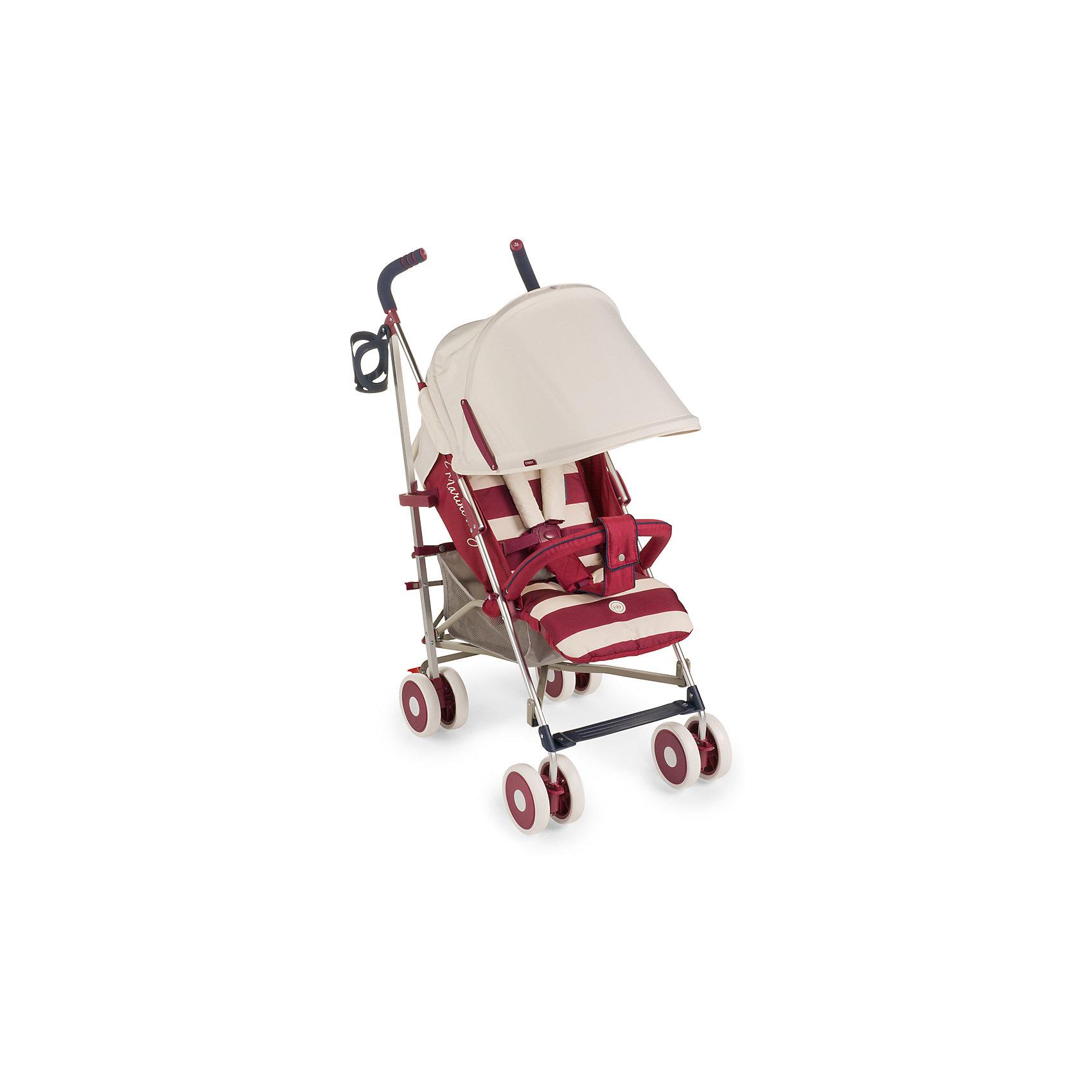 Коляска-трость Cindy, Happy Baby, красныйВНИМАНИЕ!!! Первая партия данной модели коляски в комплектации БЕЗ РАЗДЕЛИТЕЛЯ ДЛЯ НОЖЕК. Последующие партии будут приходить с разделителем. <br><br>* До полного обнуления стока по первой партии возможны две комплектации коляски – с разделителем для ног и без него. <br><br>Благодаря современному дизайну и продуманным функциям коляска Cindy подарит удовольствие от использования и малышу, и маме. Пятиточечные ремни безопасности с мягкими накладками надежно и комфортно зафиксируют ребёнка в коляске. Солнцезащитный козырёк опускается до съемного бампера, а спинка и подножка регулируются в трех положениях. Съемная подушка-подголовник и горизонтальный наклон спинки позволят малышу отдохнуть на свежем воздухе. Передние поворотные колеса с возможностью фиксации обеспечат прекрасную маневренность, а тормозной механизм на задних колесах надежно зафиксирует коляску. Большая вместительная корзина для необходимых аксессуаров, подстаканник и удобные ручки не оставят молодых родителей равнодушными. Благодаря компактному размеру в сложенном состоянии и удобной ручке для переноски коляску можно взять с собой в путешествие. Обивка изготовлена из дышащих материалов. Мягкая подкладка для головы и плеч создаст дополнительный уют вашему малышу. Ткань проста в уходе. Легко чистить влажной тряпочкой.<br><br>Дополнительная информация:<br><br>Размеры в разложенном виде ДхШхВ: 77х48х108 см<br>Размеры в сложенном виде ДхШхВ: 109х26,5х34 см<br>Максимальный вес ребенка: 15 кг<br>Ширина сиденья: 31 см<br>Длина спального места: 84 см<br>Глубина сиденья: 20 см + 17 см (подножка)<br>Длина спинки: 48см<br>Кол-во положений спинки: 3<br>Углы наклона спинки: 108, 128, 175<br>Передние поворотные колеса (360°)<br>Задние колеса с тормозным механизмом<br>Амортизация передних и задних колес<br>В комплекте дождевик, подстаканник, москитная сетка.<br>Тип складывания: трость<br>Вес коляски: 7,3 кг<br>Ручка с нескользящим покрытием<br>Капюшон с увеличением опускается до б