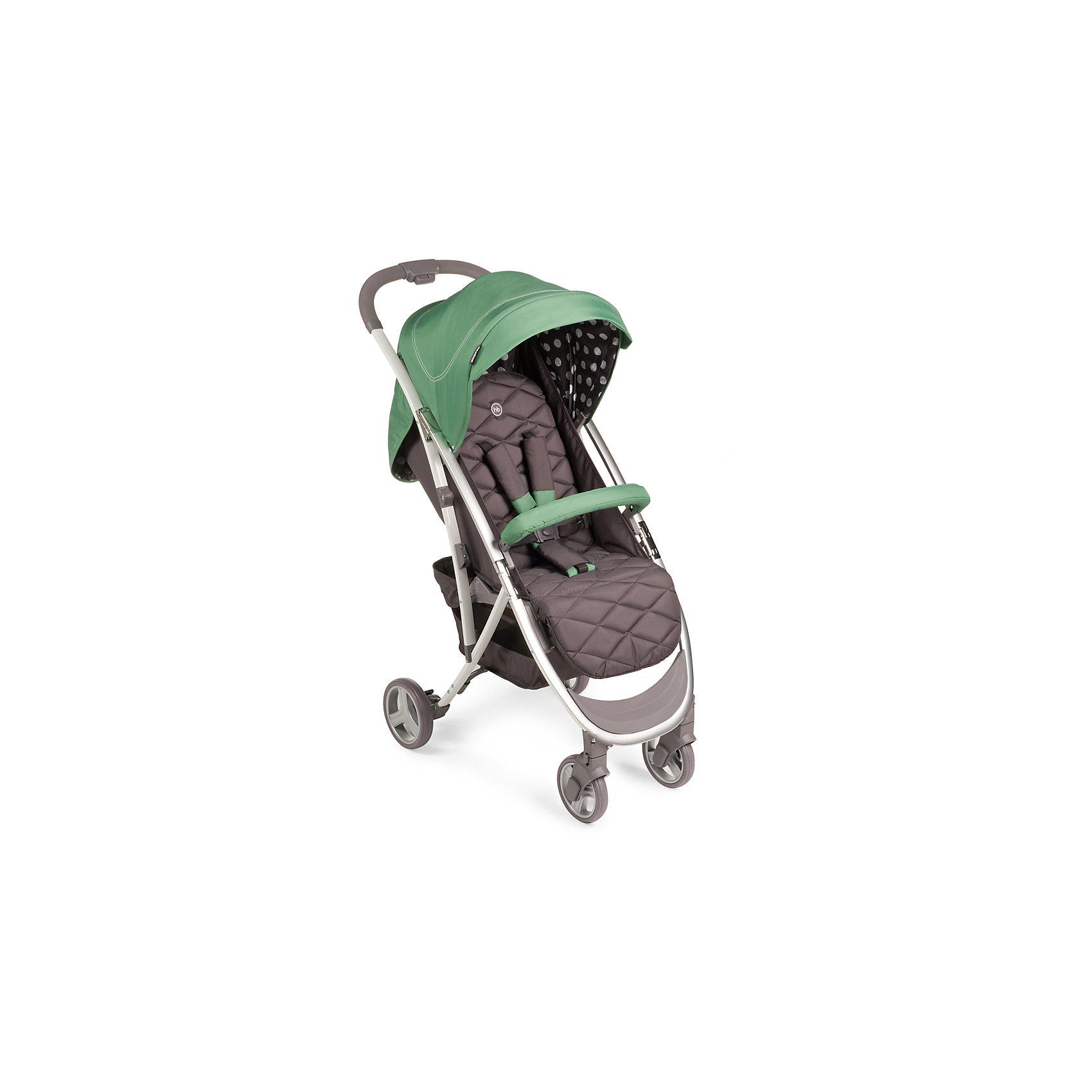 Прогулочная коляска Eleganza, Happy Baby, зеленыйМодель ELEGANZA объединяет в себе стиль и отличные ходовые данные, которые по достоинству оценят как владельцы коляски, так и окружающие. Коляска легко складывается одной рукой, имеет амортизацию на передних и задних колесах и занимает мало места в сложенном виде. При весе всего 7,7 кг коляска ELEGANZA имеет съемный бампер, козырек с окошком, регулируемую спинку. Комплектуется дождевиком, чехлом на ножки, москитной сеткой и корзиной.   <br><br>Дополнительная информация:<br><br>Габариты в разложенном виде: 88 х 50 х 107 см<br>Габариты в сложенном виде: 63 х 50 х 31 см<br>Максимальный вес ребенка: 15 кг<br>Длина спинки: 45см<br>Ширина сиденья: 34 см<br>Глубина сиденья: 22 см<br>Длина спального места: 86 см<br>Кол-во положений спинки: 3<br>Углы наклона спинки: 100, 120, 170<br>Подножка регулируется: 2 положения<br>Ширина колесной базы: 50 см<br>Передние поворотные колеса (360°) с возможностью фиксации <br>Задние колеса оснащены тормозным механизмом<br>Амортизация передних и задних колес<br>Cскладывается одной рукой<br>Съемный бампер                                 <br>В сложенном виде занимает мало места                                                                                   <br>Капюшон со смотровым окошком  <br>Вместительная корзина для покупок<br>Тип складывания: книжка<br>Вес коляски: 7,7 кг<br>Пятиточечные ремни безопасности с мягкими накладками<br>Колеса: пластиковые с покрытием EVA (этиленвинилацетат)<br>Диаметр колес: передние — 15,2 см, задние — 17,8 см<br>Удобная тормозная педаль<br>В комплекте: дождевик, чехол на ножки, москитная сетка<br>Материал:<br>Рама: металл, пластик<br>Тканные материалы: 100 % полиэстер<br><br><br>Прогулочную коляску Eleganza, Happy Baby, зеленый можно купить в нашем магазине.<br><br>Ширина мм: 250<br>Глубина мм: 445<br>Высота мм: 700<br>Вес г: 8900<br>Цвет: зеленый<br>Возраст от месяцев: 7<br>Возраст до месяцев: 36<br>Пол: Унисекс<br>Возраст: Детский<br>SKU: 4580597