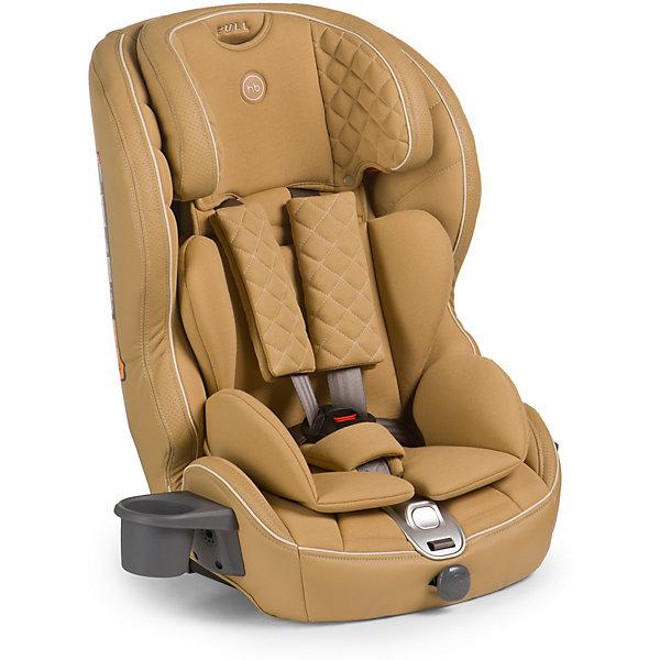 Автокресло Happy Baby Mustang Isofix, 9-36 кг, бежевыйГруппа 1-2-3  (от 9 до 36 кг)<br>Безмятежный комфорт и безопасность в дороге подарит вашему малышу автокресло MUSTANG ISOFIX. Безопасность ребенка обеспечивает крепление ISOFIX, которое вместе с якорным ремнем TOP TETHER полностью исключает неправильную установку автокресла в машине. Установка не вызовет проблем у любых родителей: просто вставьте крепление в соответствующие разъемы автомобиля и протолкните до щелчка. Жесткая база автокресла выполнена из особо прочного материала и декорирована мягкой обивкой из эко-кожи и ткани, что создает дополнительный комфорт для ребенка во время поездок. Автокресло MUSTANG ISOFIX имеет плавное регулирование наклона спинки, пятиточечные ремни безопасности с мягкими накладками и прорезиненными плечевыми накладками во избежание скольжения, съемный чехол и фиксатор натяжения ремня. Для дополнительного комфорта во время поездок на автомобиле предусмотрен подстаканник. Современное концептуальное звучание формы, материалов и цветовое исполнение гарантирует превосходную адаптацию автокресла в интерьере вашего автомобиля.<br><br>Дополнительная информация:<br><br>Группа I-II-III (от 9 до 36 кг)<br>Габариты автокресла (ВхШхГ): 70*55*52см<br>Ширина посадочного места с вкладкой/без вкладки: 25/34 см<br>Глубина посадочного места с вкладкой/без вкладки: 27/30 см<br>Длинна спального места с вкладкой/без вкладки: 86/90 см<br>Вес автокресла: 7 кг<br>Трансформируется в бустер: нет<br>Регулируемый наклон спинки: плавная регулировка (угол наклона 90°-78°)<br>Регулируемый по высоте подголовник: 5 положений<br>Материал: пластик, металл, 100 % полиуретан (экокожа), 100 % полиэстер<br>Крепление ISOFIX <br>Якорный ремень TOP TETHER<br>Пятиточечные ремни безопасности с мягкими накладками<br>Плечевые накладки прорезинены для избежания скольжения<br>Съемный чехол с элементами из экокожи<br>Фиксатор натяжения ремня<br>Устанавливается лицом по ходу движения автомобиля<br>В комплекте: подстаканник <br>Защит