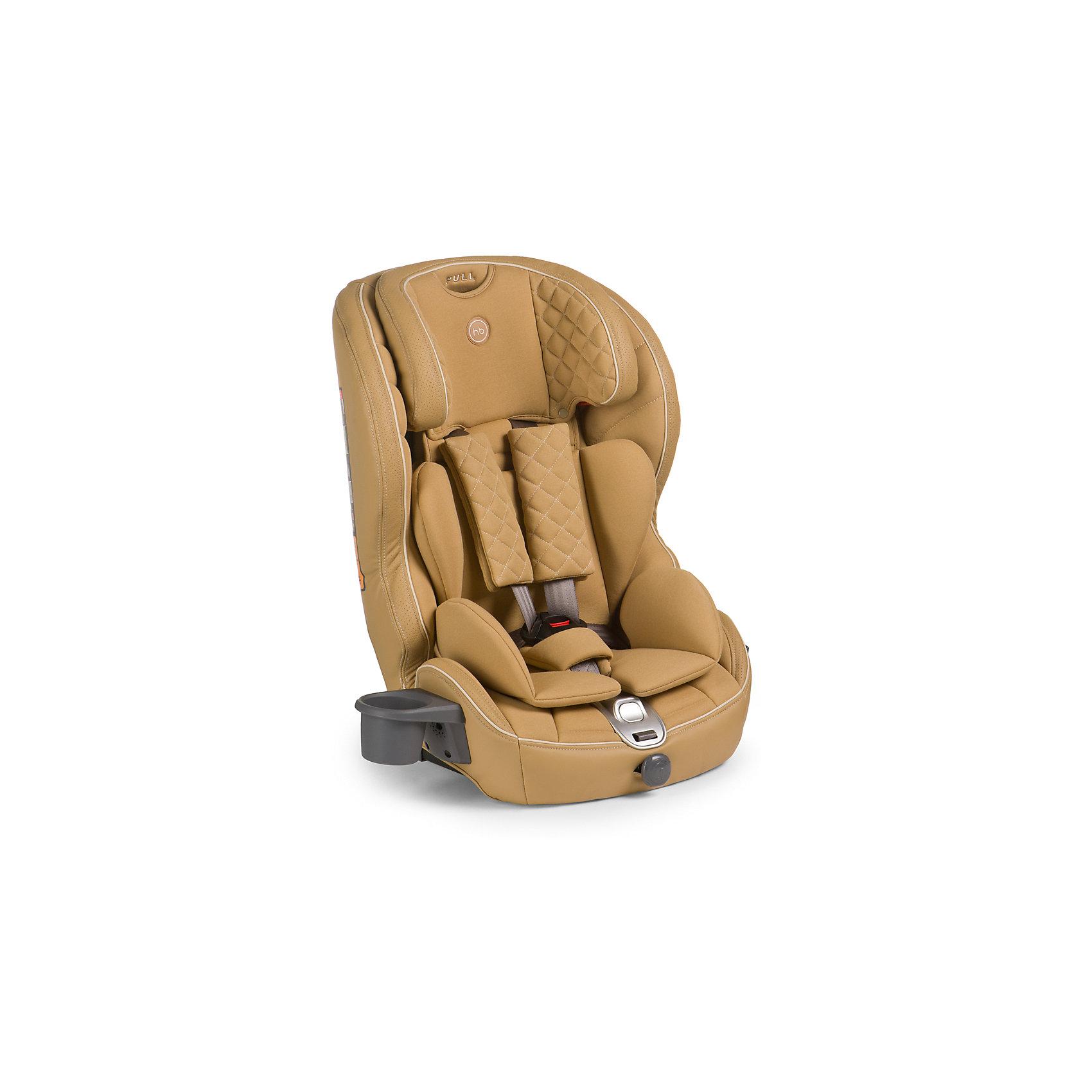 Автокресло Mustang Isofix, 9-36 кг., Happy Baby, бежевыйБезмятежный комфорт и безопасность в дороге подарит вашему малышу автокресло MUSTANG ISOFIX. Безопасность ребенка обеспечивает крепление ISOFIX, которое вместе с якорным ремнем TOP TETHER полностью исключает неправильную установку автокресла в машине. Установка не вызовет проблем у любых родителей: просто вставьте крепление в соответствующие разъемы автомобиля и протолкните до щелчка. Жесткая база автокресла выполнена из особо прочного материала и декорирована мягкой обивкой из эко-кожи и ткани, что создает дополнительный комфорт для ребенка во время поездок. Автокресло MUSTANG ISOFIX имеет плавное регулирование наклона спинки, пятиточечные ремни безопасности с мягкими накладками и прорезиненными плечевыми накладками во избежание скольжения, съемный чехол и фиксатор натяжения ремня. Для дополнительного комфорта во время поездок на автомобиле предусмотрен подстаканник. Современное концептуальное звучание формы, материалов и цветовое исполнение гарантирует превосходную адаптацию автокресла в интерьере вашего автомобиля.<br><br>Дополнительная информация:<br><br>Группа I-II-III (от 9 до 36 кг)<br>Габариты автокресла (ВхШхГ): 70*55*52см<br>Ширина посадочного места с вкладкой/без вкладки: 25/34 см<br>Глубина посадочного места с вкладкой/без вкладки: 27/30 см<br>Длинна спального места с вкладкой/без вкладки: 86/90 см<br>Вес автокресла: 7 кг<br>Трансформируется в бустер: нет<br>Регулируемый наклон спинки: плавная регулировка (угол наклона 90°-78°)<br>Регулируемый по высоте подголовник: 5 положений<br>Материал: пластик, металл, 100 % полиуретан (экокожа), 100 % полиэстер<br>Крепление ISOFIX <br>Якорный ремень TOP TETHER<br>Пятиточечные ремни безопасности с мягкими накладками<br>Плечевые накладки прорезинены для избежания скольжения<br>Съемный чехол с элементами из экокожи<br>Фиксатор натяжения ремня<br>Устанавливается лицом по ходу движения автомобиля<br>В комплекте: подстаканник <br>Защита от боковых ударов<br>Фиксатор