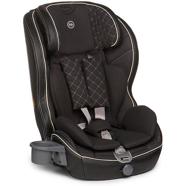 Автокресло Happy Baby Mustang Isofix, 9-36 кг, чёрныйГруппа 1-2-3  (от 9 до 36 кг)<br>Безмятежный комфорт и безопасность в дороге подарит вашему малышу автокресло MUSTANG ISOFIX. Безопасность ребенка обеспечивает крепление ISOFIX, которое вместе с якорным ремнем TOP TETHER полностью исключает неправильную установку автокресла в машине. Установка не вызовет проблем у любых родителей: просто вставьте крепление в соответствующие разъемы автомобиля и протолкните до щелчка. Жесткая база автокресла выполнена из особо прочного материала и декорирована мягкой обивкой из эко-кожи и ткани, что создает дополнительный комфорт для ребенка во время поездок. Автокресло MUSTANG ISOFIX имеет плавное регулирование наклона спинки, пятиточечные ремни безопасности с мягкими накладками и прорезиненными плечевыми накладками во избежание скольжения, съемный чехол и фиксатор натяжения ремня. Для дополнительного комфорта во время поездок на автомобиле предусмотрен подстаканник. Современное концептуальное звучание формы, материалов и цветовое исполнение гарантирует превосходную адаптацию автокресла в интерьере вашего автомобиля.<br><br>Дополнительная информация:<br><br>Группа I-II-III (от 9 до 36 кг)<br>Габариты автокресла (ВхШхГ): 70*55*52см<br>Ширина посадочного места с вкладкой/без вкладки: 25/34 см<br>Глубина посадочного места с вкладкой/без вкладки: 27/30 см<br>Длинна спального места с вкладкой/без вкладки: 86/90 см<br>Вес автокресла: 7 кг<br>Трансформируется в бустер: нет<br>Регулируемый наклон спинки: плавная регулировка (угол наклона 90°-78°)<br>Регулируемый по высоте подголовник: 5 положений<br>Материал: пластик, металл, 100 % полиуретан (экокожа), 100 % полиэстер<br>Крепление ISOFIX <br>Якорный ремень TOP TETHER<br>Пятиточечные ремни безопасности с мягкими накладками<br>Плечевые накладки прорезинены для избежания скольжения<br>Съемный чехол с элементами из экокожи<br>Фиксатор натяжения ремня<br>Устанавливается лицом по ходу движения автомобиля<br>В комплекте: подстаканник <br>Защита
