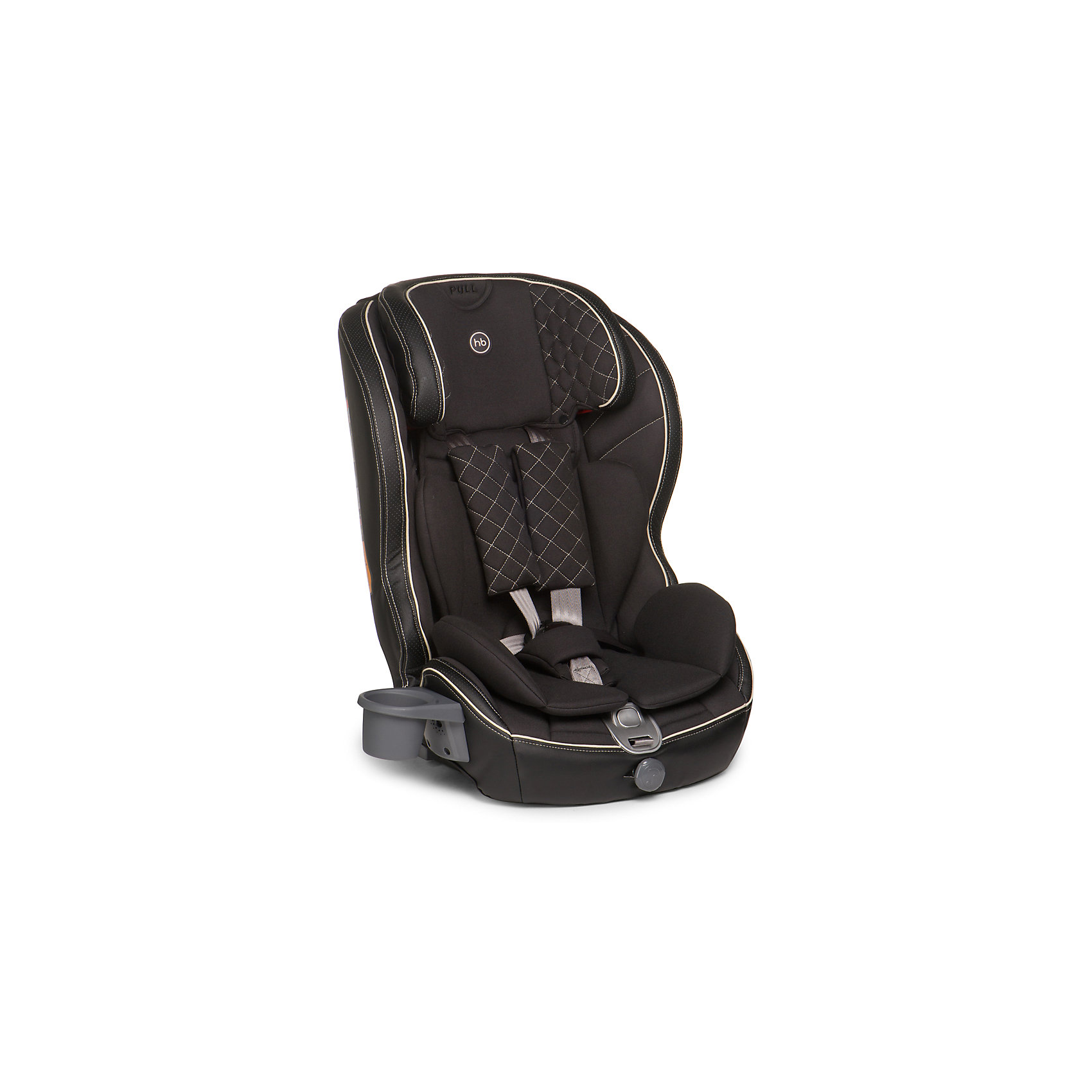 Happy Baby Автокресло Mustang Isofix, 9-36 кг., Happy Baby, чёрный автокресло happy baby happy baby автокресло mustang brown