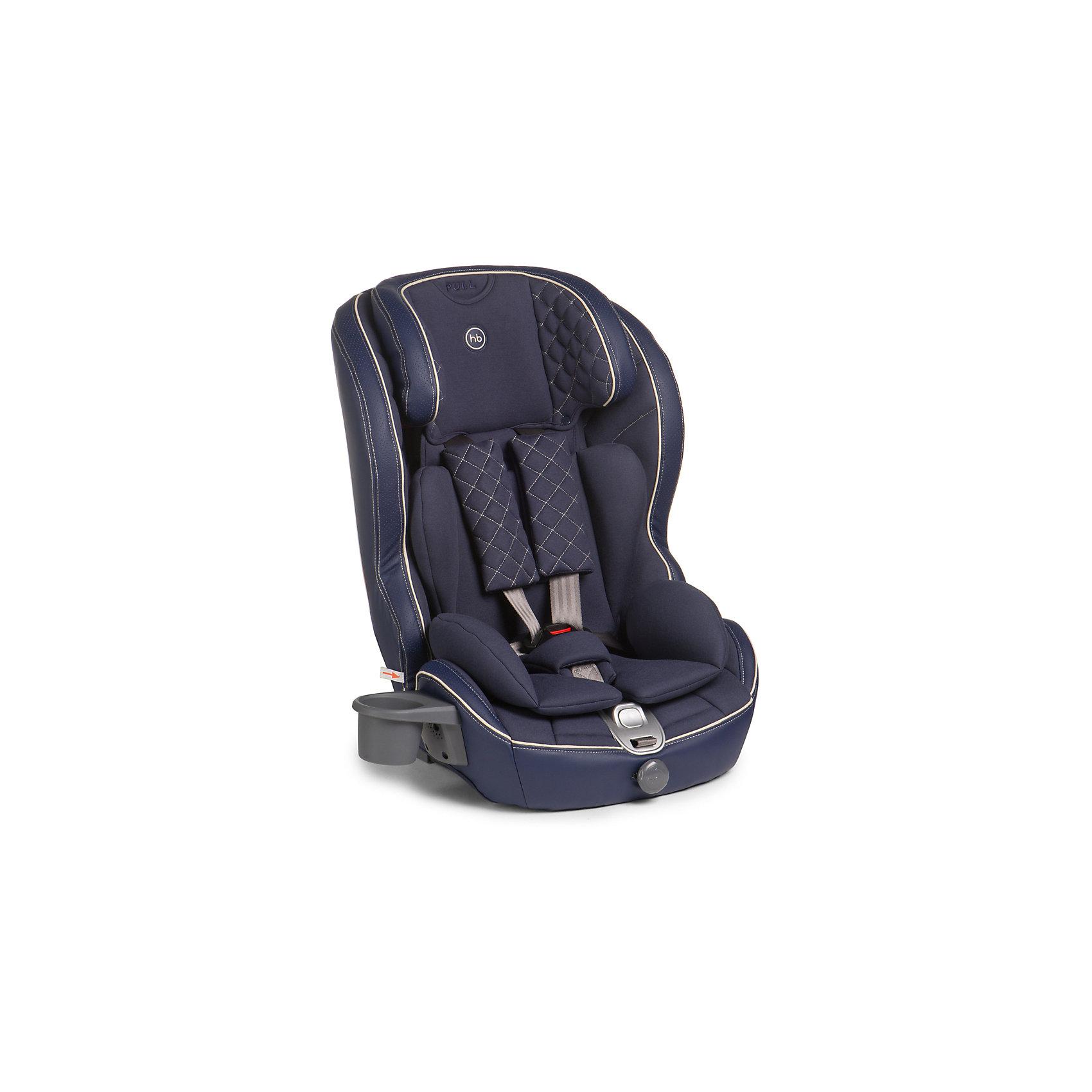 Автокресло Happy Baby Mustang Isofix, 9-36 кг, синийГруппа 1-2-3 (От 9 до 36 кг)<br>Безмятежный комфорт и безопасность в дороге подарит вашему малышу автокресло MUSTANG ISOFIX. Безопасность ребенка обеспечивает крепление ISOFIX, которое вместе с якорным ремнем TOP TETHER полностью исключает неправильную установку автокресла в машине. Установка не вызовет проблем у любых родителей: просто вставьте крепление в соответствующие разъемы автомобиля и протолкните до щелчка. Жесткая база автокресла выполнена из особо прочного материала и декорирована мягкой обивкой из эко-кожи и ткани, что создает дополнительный комфорт для ребенка во время поездок. Автокресло MUSTANG ISOFIX имеет плавное регулирование наклона спинки, пятиточечные ремни безопасности с мягкими накладками и прорезиненными плечевыми накладками во избежание скольжения, съемный чехол и фиксатор натяжения ремня. Для дополнительного комфорта во время поездок на автомобиле предусмотрен подстаканник. Современное концептуальное звучание формы, материалов и цветовое исполнение гарантирует превосходную адаптацию автокресла в интерьере вашего автомобиля.<br><br>Дополнительная информация:<br><br>Группа I-II-III (от 9 до 36 кг)<br>Габариты автокресла (ВхШхГ): 70*55*52см<br>Ширина посадочного места с вкладкой/без вкладки: 25/34 см<br>Глубина посадочного места с вкладкой/без вкладки: 27/30 см<br>Длинна спального места с вкладкой/без вкладки: 86/90 см<br>Вес автокресла: 7 кг<br>Трансформируется в бустер: нет<br>Регулируемый наклон спинки: плавная регулировка (угол наклона 90°-78°)<br>Регулируемый по высоте подголовник: 5 положений<br>Материал: пластик, металл, 100 % полиуретан (экокожа), 100 % полиэстер<br>Крепление ISOFIX <br>Якорный ремень TOP TETHER<br>Пятиточечные ремни безопасности с мягкими накладками<br>Плечевые накладки прорезинены для избежания скольжения<br>Съемный чехол с элементами из экокожи<br>Фиксатор натяжения ремня<br>Устанавливается лицом по ходу движения автомобиля<br>В комплекте: подстаканник <br>Защита о