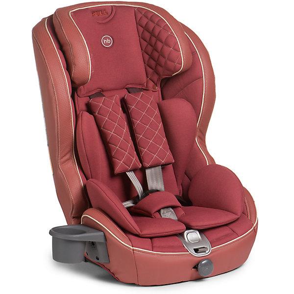 Автокресло Happy Baby Mustang Isofix, 9-36 кг, бордовыйАвтокресла с креплением Isofix<br>Безмятежный комфорт и безопасность в дороге подарит вашему малышу автокресло MUSTANG ISOFIX. Безопасность ребенка обеспечивает крепление ISOFIX, которое вместе с якорным ремнем TOP TETHER полностью исключает неправильную установку автокресла в машине. Установка не вызовет проблем у любых родителей: просто вставьте крепление в соответствующие разъемы автомобиля и протолкните до щелчка. Жесткая база автокресла выполнена из особо прочного материала и декорирована мягкой обивкой из эко-кожи и ткани, что создает дополнительный комфорт для ребенка во время поездок. Автокресло MUSTANG ISOFIX имеет плавное регулирование наклона спинки, пятиточечные ремни безопасности с мягкими накладками и прорезиненными плечевыми накладками во избежание скольжения, съемный чехол и фиксатор натяжения ремня. Для дополнительного комфорта во время поездок на автомобиле предусмотрен подстаканник. Современное концептуальное звучание формы, материалов и цветовое исполнение гарантирует превосходную адаптацию автокресла в интерьере вашего автомобиля.<br><br>Дополнительная информация:<br><br>Группа I-II-III (от 9 до 36 кг)<br>Габариты автокресла (ВхШхГ): 70*55*52см<br>Ширина посадочного места с вкладкой/без вкладки: 25/34 см<br>Глубина посадочного места с вкладкой/без вкладки: 27/30 см<br>Длинна спального места с вкладкой/без вкладки: 86/90 см<br>Вес автокресла: 7 кг<br>Трансформируется в бустер: нет<br>Регулируемый наклон спинки: плавная регулировка (угол наклона 90°-78°)<br>Регулируемый по высоте подголовник: 5 положений<br>Материал: пластик, металл, 100 % полиуретан (экокожа), 100 % полиэстер<br>Крепление ISOFIX <br>Якорный ремень TOP TETHER<br>Пятиточечные ремни безопасности с мягкими накладками<br>Плечевые накладки прорезинены для избежания скольжения<br>Съемный чехол с элементами из экокожи<br>Фиксатор натяжения ремня<br>Устанавливается лицом по ходу движения автомобиля<br>В комплекте: подстаканник <br>Защ