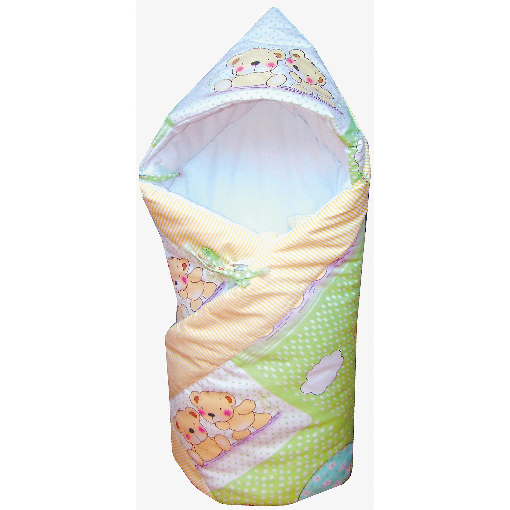 СуперМаМкет Демисезонный конверт-одеяло CuteWrap