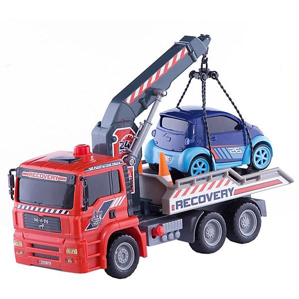 Эвакуатор, AirPump, 31см, DickieМашинки<br>Яркий функциональный эвакуатор обязательно заинтересует всех юных автомобилистов и даст простор для множества игровых сюжетов. Машина прекрасно детализирована и реалистично раскрашена, имеет подвижные колеса с широкими рельефными протекторами, оснащена помповым механизмом. Зацепив крючком машинку, необходимо нажать на кнопку, которая находится на кабине эвакуатора и стрела крана начнет подниматься вверх. Для опускания стрелы необходимо нажать на рычаг, находящийся снизу за кабиной. На крыше эвакуатора есть мигалки, также в наборе - легковая машина для транспортировки. Игрушка выполнена из прочных экологичных материалов, в производстве которых использованы нетоксичные, безопасные красители.<br><br>Дополнительная информация:<br><br>- Материал: пластик, металл.<br>- Размер эвакуатора: 31 см.<br>- Подвижные колеса.<br>- Подвижный механизм опускания и поднимания стрелы крана.<br>- Платформа крана поворотная.<br>- Пневматический механизм Air Pump.<br><br>Эвакуатор, AirPump, 31см, Dickie (Дикки), можно купить в нашем магазине.<br>Ширина мм: 400; Глубина мм: 200; Высота мм: 310; Вес г: 960; Возраст от месяцев: 36; Возраст до месяцев: 84; Пол: Мужской; Возраст: Детский; SKU: 4582757;