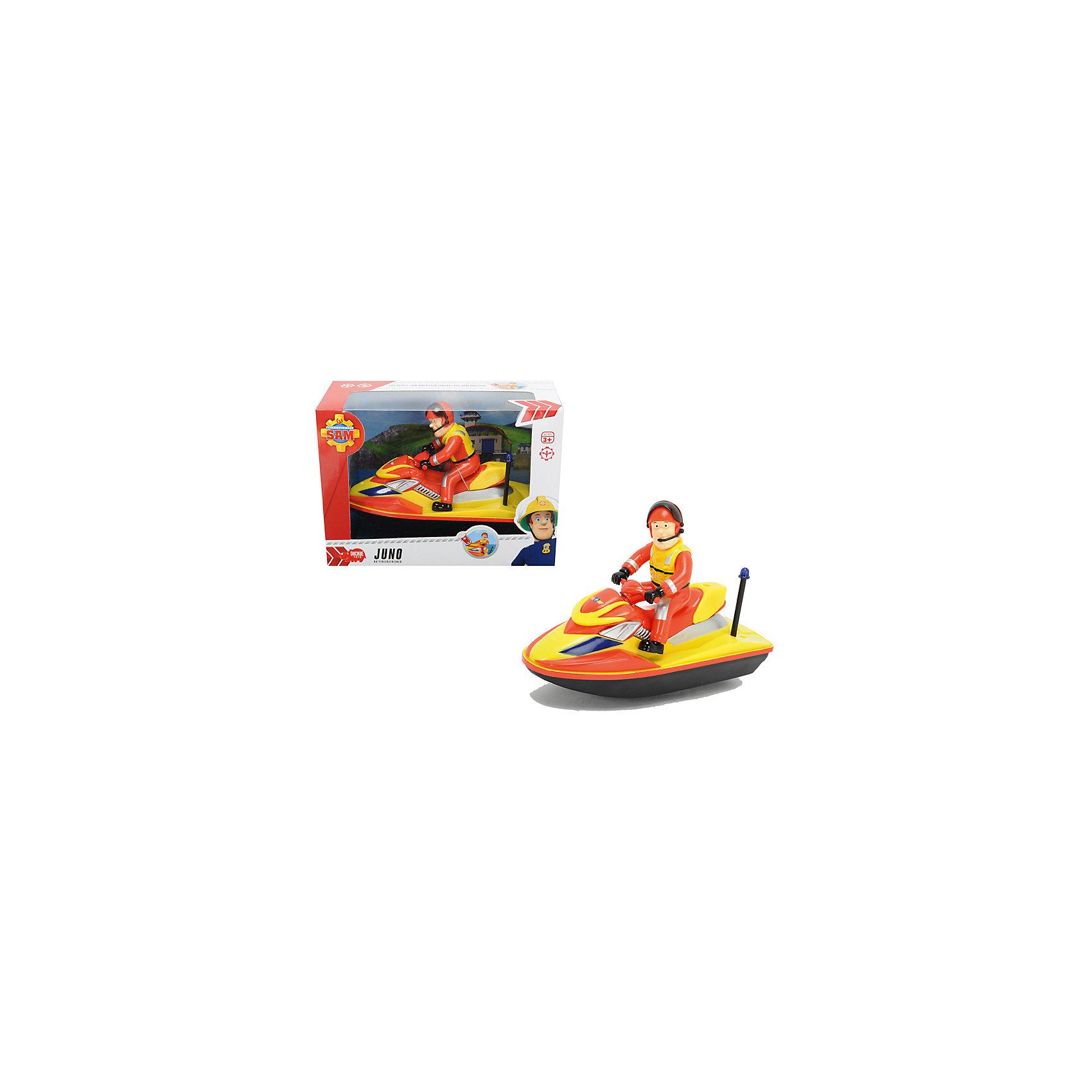 - Водный скутер, 22см, Пожарный Сэм, Dickie