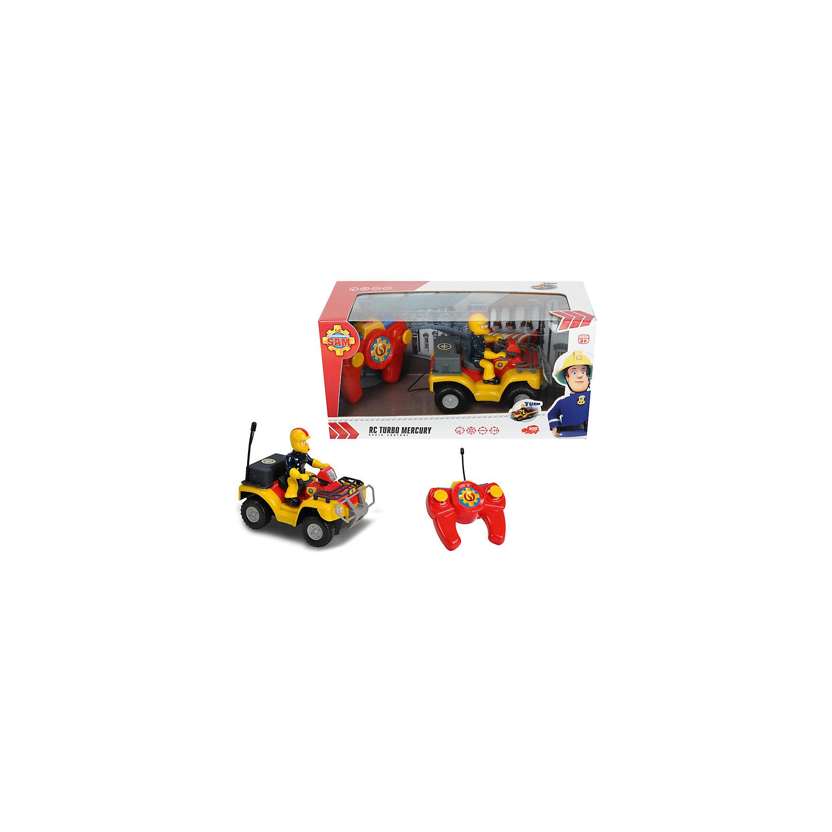 - Квадроцикл на р/у, Пожарный Сэм, Dickie игрушечные машинки на пульте управления по грязи купить