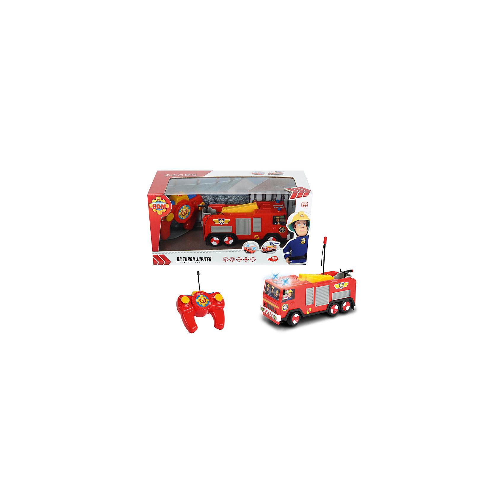 - Пожарная машина на р/у, Пожарный Сэм, Dickie игрушечные машинки на пульте управления по грязи купить