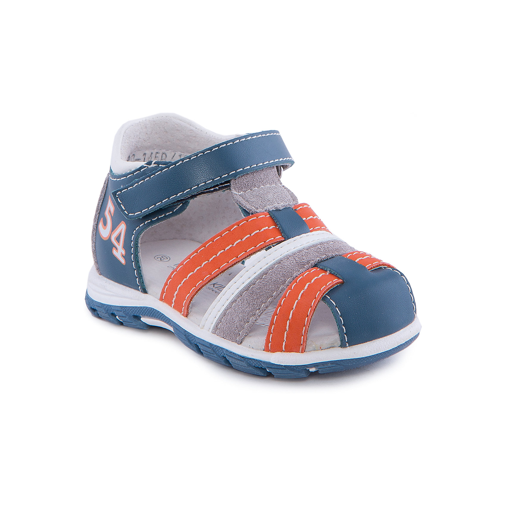 Сандалии для мальчика Indigo kidsСандалии<br>Сандалии для мальчика от известного бренда Indigo kids<br><br>Модные сандалии позволяют ножкам ребенка свободно дышать. Они легко надеваются и комфортно садятся по ноге. Оригинальный дизайн и качественное исполнение выделяют такую обувь из общего ряда новых моделей для этого сезона.<br><br>Особенности модели:<br><br>- цвет - синий;<br>- стильный дизайн;<br>- удобная колодка;<br>- декорированы контрастной прошивкой;<br>- кожаная подкладка;<br>- украшены принтом и яркими деталями;<br>- устойчивая подошва;<br>- застежки: липучки.<br><br>Дополнительная информация:<br><br>Состав:<br><br>верх – искусственная кожа;<br>подкладка -   натуральная кожа;<br>подошва - ТЭП.<br><br>Сандалии для мальчика Indigo kids (Индиго Кидс) можно купить в нашем магазине.<br><br>Ширина мм: 219<br>Глубина мм: 154<br>Высота мм: 121<br>Вес г: 343<br>Цвет: голубой<br>Возраст от месяцев: 9<br>Возраст до месяцев: 12<br>Пол: Мужской<br>Возраст: Детский<br>Размер: 20,23,25,24,22,21<br>SKU: 4582763