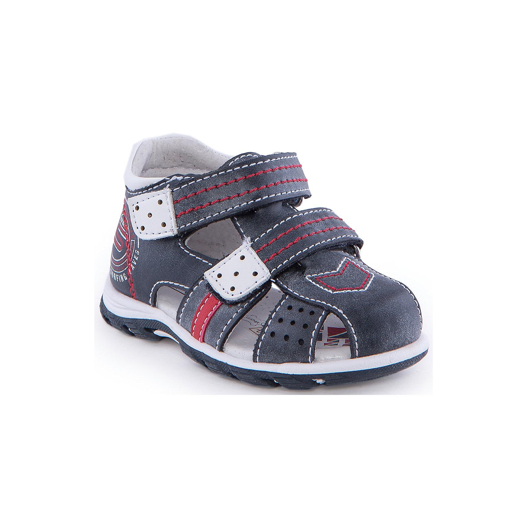 Сандалии для мальчика Indigo kidsСандалии<br>Сандалии для мальчика от известного бренда Indigo kids<br><br>Модные сандалии позволяют ножкам ребенка свободно дышать. Они легко надеваются и комфортно садятся по ноге. Оригинальный дизайн и качественное исполнение выделяют такую обувь из общего ряда новых моделей для этого сезона.<br><br>Особенности модели:<br><br>- цвет - синий;<br>- стильный дизайн;<br>- удобная колодка;<br>- декорированы контрастной прошивкой;<br>- кожаная подкладка;<br>- украшены принтом;<br>- устойчивая подошва;<br>- застежки: липучки.<br><br>Дополнительная информация:<br><br>Состав:<br><br>верх – искусственная кожа;<br>подкладка -   натуральная кожа;<br>подошва - ТЭП.<br><br>Сандалии для мальчика Indigo kids (Индиго Кидс) можно купить в нашем магазине.<br><br>Ширина мм: 219<br>Глубина мм: 154<br>Высота мм: 121<br>Вес г: 343<br>Цвет: синий<br>Возраст от месяцев: 12<br>Возраст до месяцев: 15<br>Пол: Мужской<br>Возраст: Детский<br>Размер: 21,20,25,23,22,24<br>SKU: 4582770