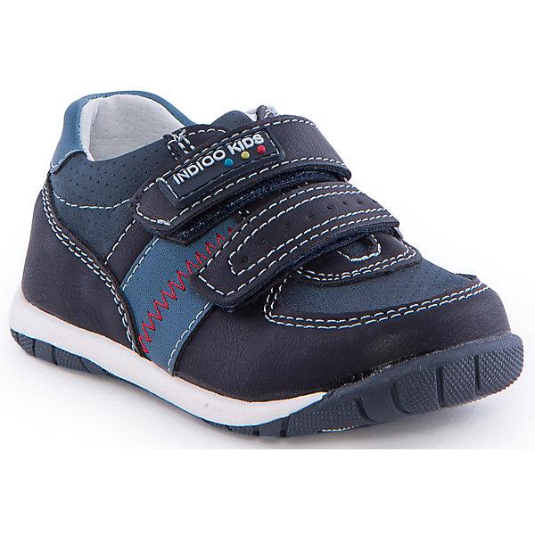 Полуботинки для мальчика Indigo kidsБотинки<br>Полуботинки для мальчика от известного бренда Indigo kids<br><br>Модные синие Полуботинки позволяют ножкам ребенка свободно дышать. Они легко надеваются и комфортно садятся по ноге. Оригинальный дизайн и качественное исполнение выделяют такую обувь из общего ряда новых моделей для этого сезона.<br><br>Особенности модели:<br><br>- цвет - синий;<br>- стильный дизайн;<br>- удобная колодка;<br>- декорированы контрастной прошивкой;<br>- кожаная подкладка;<br>- украшены логотипом;<br>- устойчивая подошва;<br>- дышащий материал;<br>- застежки: липучки.<br><br>Дополнительная информация:<br><br>Температурный режим:<br>от +10° С до +20° С<br><br>Состав:<br><br>верх – искусственная кожа;<br>подкладка -   натуральная кожа;<br>подошва - ТЭП.<br><br>Полуботинки для мальчика Indigo kids (Индиго Кидс) можно купить в нашем магазине.<br>Ширина мм: 262; Глубина мм: 176; Высота мм: 97; Вес г: 427; Цвет: синий; Возраст от месяцев: 9; Возраст до месяцев: 12; Пол: Мужской; Возраст: Детский; Размер: 20,23,25,22,24,21; SKU: 4582798;