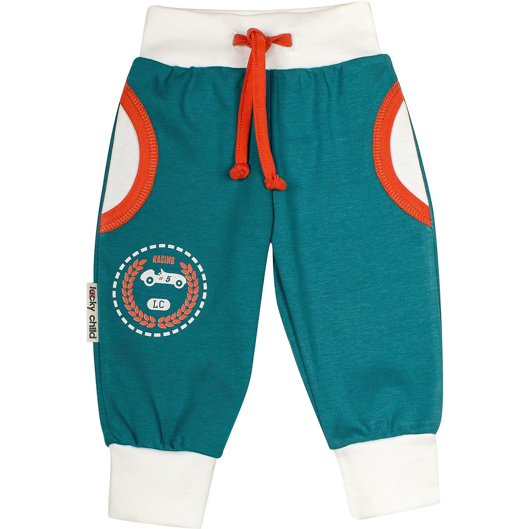 Утепленные штанишки для мальчика Lucky Child