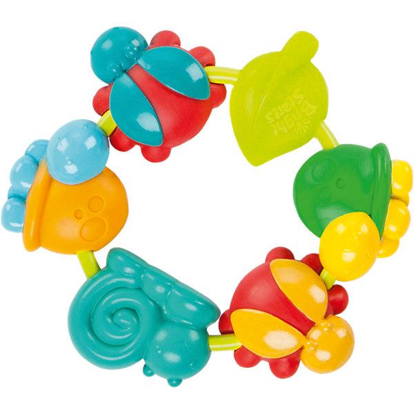 Прорезыватель для зубок Веселый хоровод, Bright StartsРазвивающие игрушки<br>Прорезыватель для зубок Веселый хоровод, Bright Starts (Брайт Старс).<br><br>Характеристика:<br><br>• Материал: пластик. <br>• Размер упаковки: 20 х 15,5 х 3 см.<br>• Эффективно успокоит нежные десны малыша. <br>• Яркий привлекательный дизайн. <br>• Разноцветные игрушки разной формы помогут развить моторику рук и цветовосприятие. <br><br>Яркий прорезыватель успокоит нежные десны крохи, а разноцветные игрушки помогут развить мелкую моторику, цветовосприятие, тактильные ощущения. Прорезыватель идеально подходит для маленьких детских ручек и пальчиков, изготовлен из высококачественных нетоксичных материалов безопасных для детей.   <br><br>Прорезыватель для зубок Веселый хоровод, Bright Starts (Брайт Старс), можно купить в нашем интернет-магазине.<br>Ширина мм: 205; Глубина мм: 131; Высота мм: 27; Вес г: 89; Возраст от месяцев: 3; Возраст до месяцев: 24; Пол: Унисекс; Возраст: Детский; SKU: 4585926;