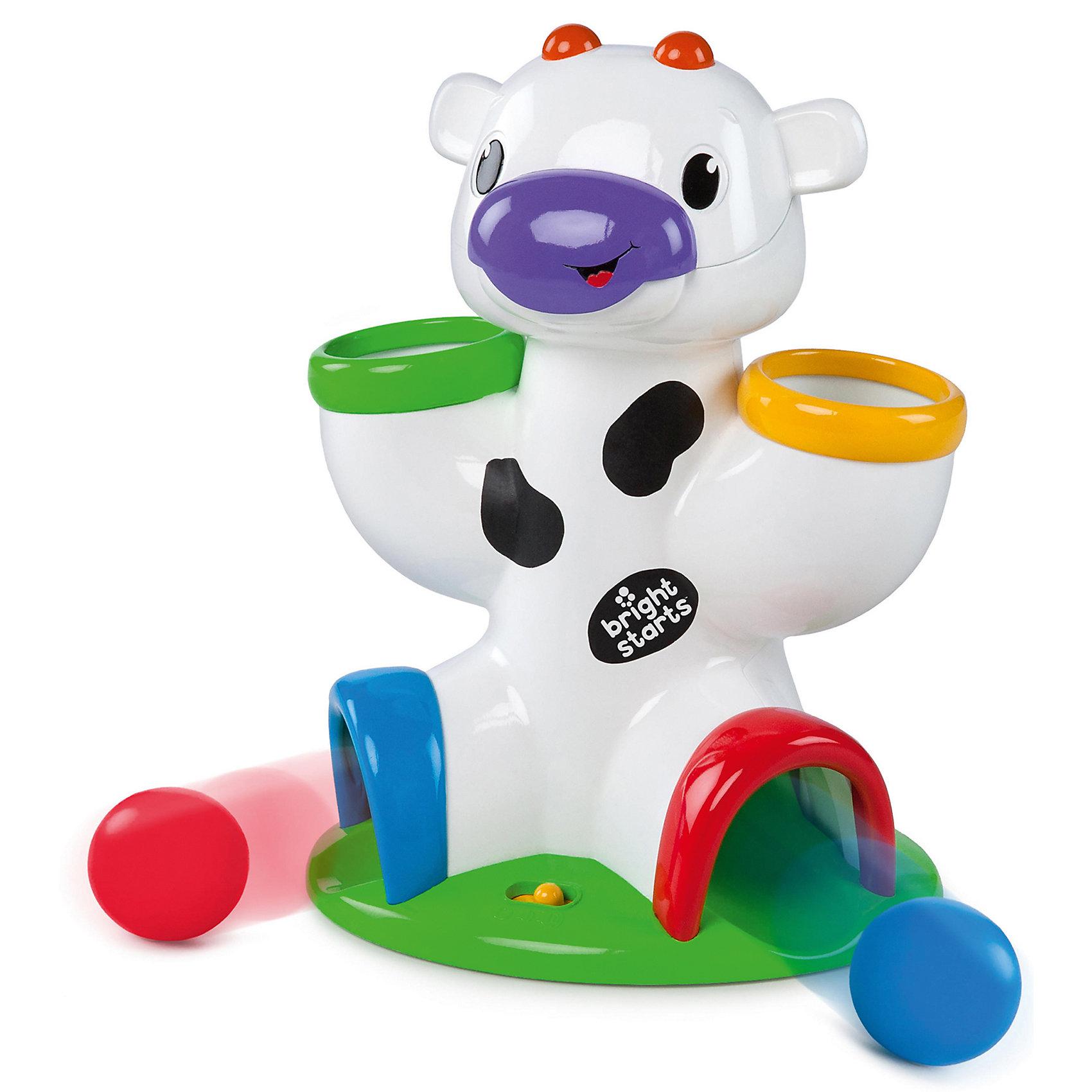 RU Развивающая игрушка Bright Starts «Веселая корова»Развивающие игрушки<br><br><br>Ширина мм: 339<br>Глубина мм: 218<br>Высота мм: 182<br>Вес г: 661<br>Возраст от месяцев: 6<br>Возраст до месяцев: 24<br>Пол: Унисекс<br>Возраст: Детский<br>SKU: 4585930