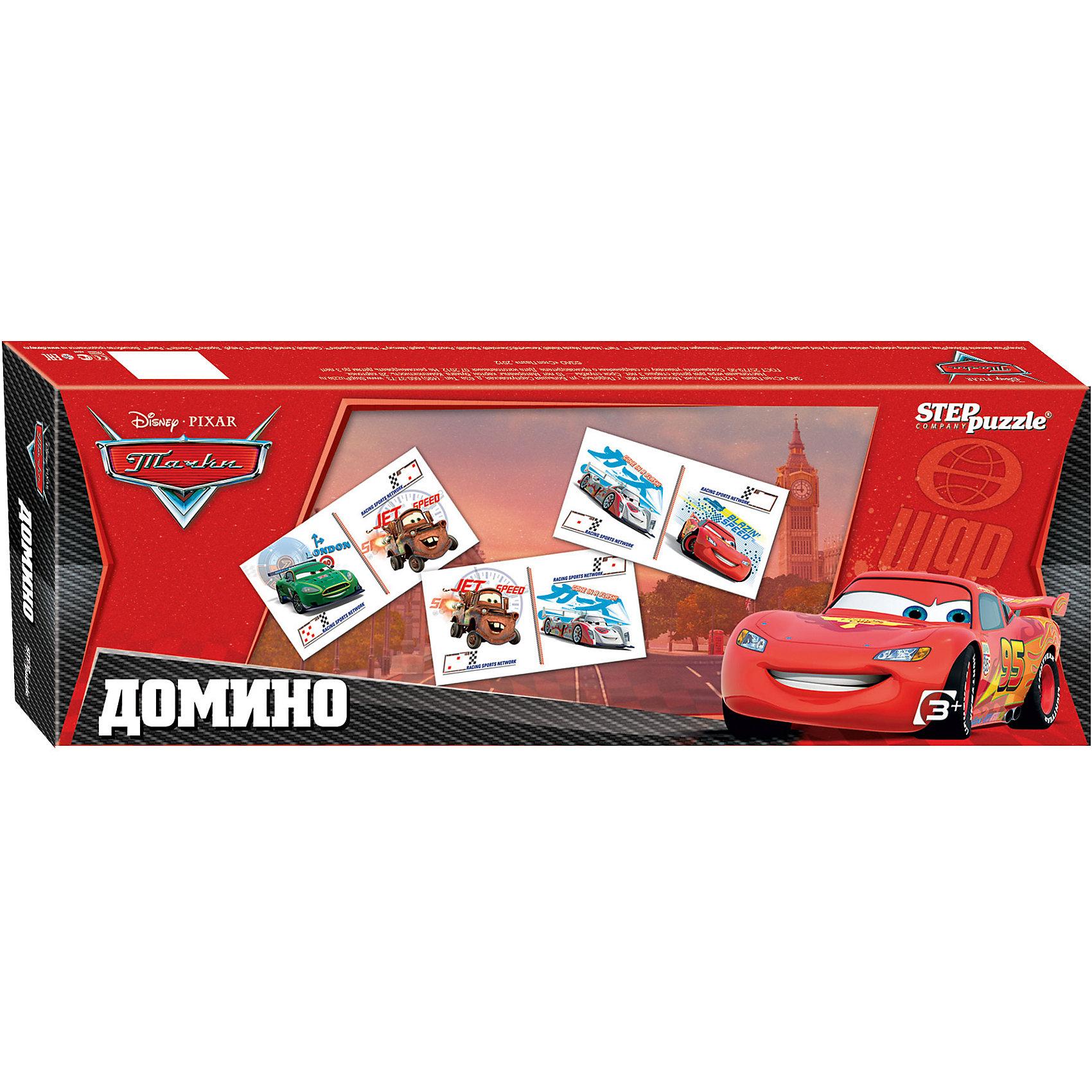 Домино Тачки, Step PuzzleДомино<br>Домино Тачки, Step Puzzle (Степ Пазл) – это классическая, всем известная игра с любимыми героями, в которую можно играть всей семьей.<br>Домино «Тачки» станет хорошим подарком для вашего ребенка. Герои любимого многими мальчиками мультфильма Тачки, изображенные на качественных картонных карточках, увлекут малыша в веселый процесс игры. Домино формирует навыки аналитического мышления, сосредоточенность, логику, память и внимание.<br><br>Дополнительная информация:<br><br>- В комплекте: 28 карточек с любимыми героями мультсериала Тачки, правила игры<br>- Материал: картон<br>- Количество игроков: от 2 до 4 человек<br>- Упаковка: картонная коробка<br>- Размер упаковки: 360x35x125 мм.<br><br>Домино Тачки, Step Puzzle (Степ Пазл) можно купить в нашем интернет-магазине.<br><br>Ширина мм: 360<br>Глубина мм: 35<br>Высота мм: 125<br>Вес г: 400<br>Возраст от месяцев: 36<br>Возраст до месяцев: 84<br>Пол: Унисекс<br>Возраст: Детский<br>SKU: 4588248