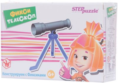 Степ Пазл Игра Фикси - телескоп , Step Puzzle