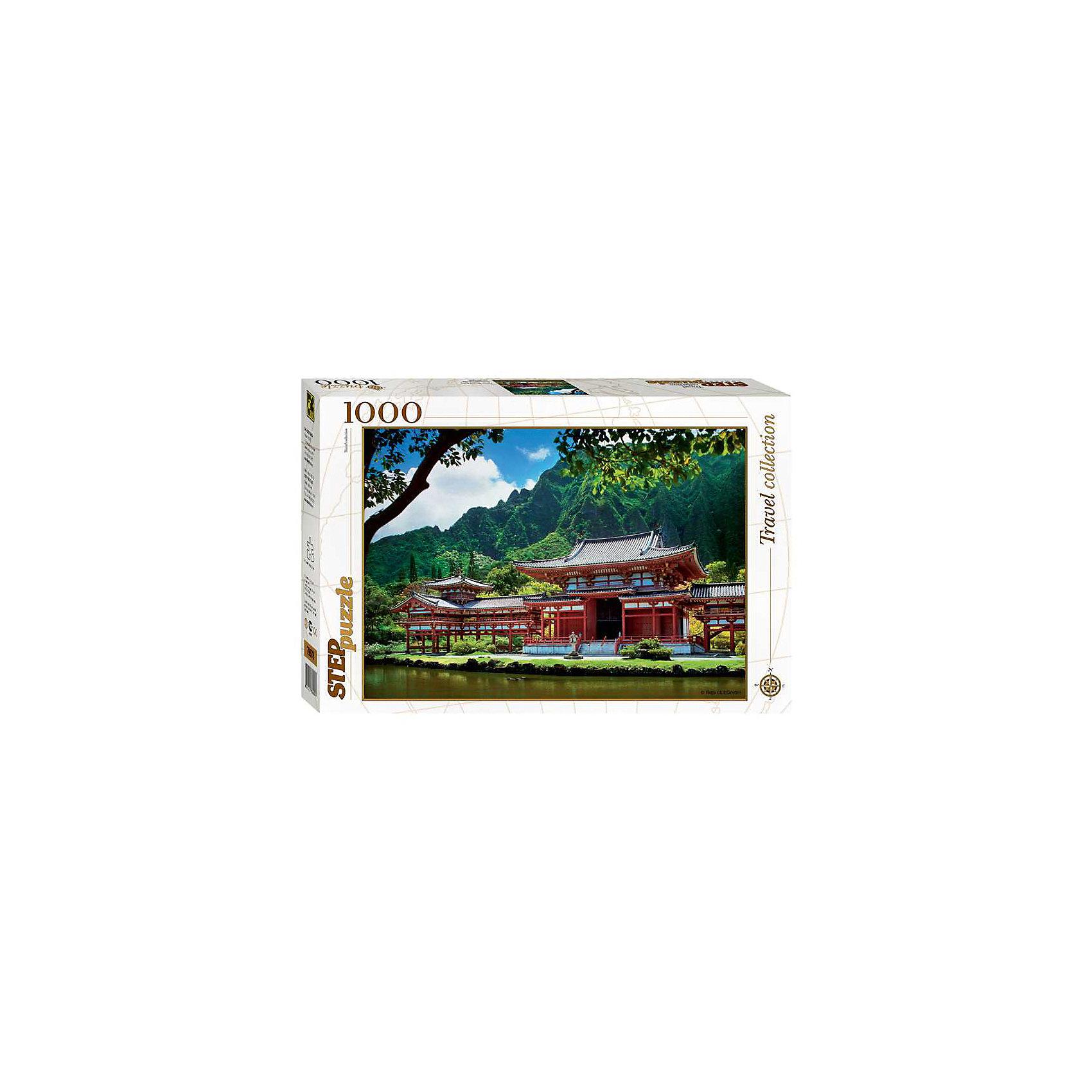 Степ Пазл Пазл Гаваи. Остров Оаху, 1000 деталей, Step Puzzle степ пазл пазл букет цветов с улиткой 1000 деталей step puzzle