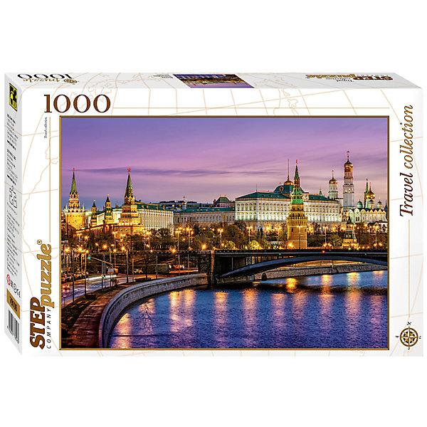 Пазл Москва. Набережная, 1000 деталей, Step PuzzleПазлы классические<br>Пазл Москва. Набережная, 1000 деталей, Step Puzzle (Степ Пазл) – это коллекционный подарочный пазл из серии «Travel Collection».<br>Знаменитая Кремлевская набережная находится между Большим Каменным и Большим Москворецким мостами. На протяжении истории набережная была несколько раз реконструирована. Так, в XVIII веке, она была обшита бревнами. Современный вид набережная приобрела в 1936-м году. Подпорку стены набережной сделали под наклоном, облицевали гранитом и высадили множество деревьев. Примечательность Кремлевской набережной заключается в великолепном виде, открывающемся на Московский Кремль. Собирается картина из 1000 аккуратно вырезанных элементов. Благодаря великолепному качеству исполнения, высокой точности в подгонке деталей, плотности картона, а также высокой контрастности, во время сборки у вас не возникнет абсолютно никаких затруднений. Получившаяся картина впишется в любой интерьер. Рекомендуется приобрести специальный клей для пазлов, который скрепит пазл, придаст ему сходство с цельной картиной.<br><br>Дополнительная информация:<br><br>- Количество деталей: 1000<br>- Материал: картон<br>- Размер собранной картины: 68х48 см.<br>- Отличная проклейка<br>- Детали идеально подходят друг другу<br>- Упаковка: картонная коробка<br>- Размер упаковки: 400x55x270 мм.<br>- Вес: 600 гр.<br><br>Пазл Москва. Набережная, 1000 деталей, Step Puzzle (Степ Пазл) можно купить в нашем интернет-магазине.<br>Ширина мм: 400; Глубина мм: 55; Высота мм: 270; Вес г: 600; Возраст от месяцев: 84; Возраст до месяцев: 192; Пол: Унисекс; Возраст: Детский; SKU: 4588264;