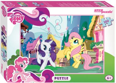 Степ Пазл Пазл My little Pony , 160 детелей, Step Puzzle