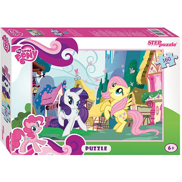 Пазл My little Pony, 160 детелей, Step PuzzleПазлы для детей постарше<br>Пазл My little Pony, 160 деталей, Step Puzzle (Степ Пазл) – это замечательный красочный пазл с изображением любимых героев.<br>Знаменитые маленькие пони приглашают в свой волшебный мир. Подарите ребенку чудесный пазл My little Pony, и он будет увлеченно подбирать детали, пока не составит яркую и интересную картинку, на которой на фоне прелестных домиков Понивиля изображены Флатершай, любующаяся стайкой бабочек и Рарити. Сборка пазла My little Pony от Step Puzzle (Степ Пазл) подарит Вашему ребенку не только множество увлекательных вечеров, но и принесет пользу для развития. Координация, моторика, внимательность легко тренируются, пока ребенок увлеченно подбирает детали. Качественные фрагменты пазла отлично проклеены и идеально подходят один к другому, поэтому сборка пазла обеспечит малышу только положительные эмоции. Вы будете использовать этот пазл не один год, ведь благодаря качественной нарезке детали не расслаиваются даже после многократного использования.<br><br>Дополнительная информация:<br><br>- Количество деталей: 160<br>- Материал: картон<br>- Размер собранной картинки: 34,5х24 см.<br>- Отличная проклейка<br>- Долгий срок службы<br>- Детали идеально подходят друг другу<br>- Яркий сюжет<br>- Упаковка: картонная коробка<br>- Размер упаковки: 280x40x195 мм.<br>- Вес: 400 гр.<br><br>Пазл My little Pony, 160 деталей, Step Puzzle (Степ Пазл) можно купить в нашем интернет-магазине.<br><br>Ширина мм: 280<br>Глубина мм: 40<br>Высота мм: 195<br>Вес г: 400<br>Возраст от месяцев: 60<br>Возраст до месяцев: 144<br>Пол: Унисекс<br>Возраст: Детский<br>Количество деталей: 160<br>SKU: 4588280