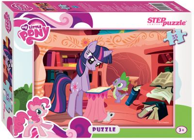 Степ Пазл Пазл My little Pony , 35 деталей, Step Puzzle