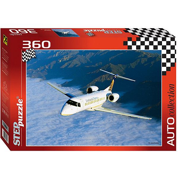 Пазл Самолет, 360 деталей, Step PuzzleПазлы для детей постарше<br>Пазл Самолет, 360 деталей, Step Puzzle (Степ Пазл) – это красочный пазл  серии «Auto collection».<br>Красочный Самолет от торговой марки Step Puzzle (Степ Пазл) станет прекрасным подарком, как для малышей, так и для взрослых. Все элементы изготовлены из прочного картона. Качественные фрагменты пазла отлично проклеены, не расслаиваются и идеально подходят один к другому, поэтому сборка пазла обеспечит только положительные эмоции. Собрав все детали, Вы получите яркую картинку с изображением небольшого белого самолета, летящего над облаками. Занятия с пазлом поспособствуют развитию множества полезных навыков, таких как мелкая моторика рук, пространственное мышление, память и наблюдательность.<br><br>Дополнительная информация:<br><br>- Количество деталей: 360<br>- Материал: картон<br>- Размер собранной картины: 50х34,5 см.<br>- Отличная проклейка<br>- Детали идеально подходят друг другу<br>- Упаковка: картонная коробка<br>- Размер упаковки: 335x40x215 мм.<br>- Вес: 400 гр.<br><br>Пазл Самолет, 360 деталей, Step Puzzle (Степ Пазл) можно купить в нашем интернет-магазине.<br><br>Ширина мм: 335<br>Глубина мм: 40<br>Высота мм: 215<br>Вес г: 400<br>Возраст от месяцев: 84<br>Возраст до месяцев: 192<br>Пол: Унисекс<br>Возраст: Детский<br>SKU: 4588297