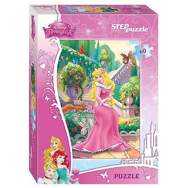 Пазл Спящая красавица, 60 деталей, Step PuzzleПазлы для малышей<br>Пазл Спящая красавица, 60 деталей, Step Puzzle (Степ Пазл) – это замечательный красочный пазл с изображением любимых героев.<br>Злая колдунья наложила заклятье на принцессу Аврору: в день своего совершеннолетия она уколет палец веретеном и заснет мертвым сном, пока прекрасный принц не разбудит ее поцелуем. Подарите ребенку чудесный пазл Спящая красавица, и он будет увлеченно подбирать детали, пока не составит яркую и интересную картинку, на которой белокурая красавица Аврора в нежно розовом платье с белым воротничком присела отдохнуть в дивном цветущем саду, а любопытная белочка подбежала к ней. Сборка пазла Спящая красавица от Step Puzzle (Степ Пазл) подарит Вашему ребенку не только множество увлекательных вечеров, но и принесет пользу для развития. Координация, моторика, внимательность легко тренируются, пока ребенок увлеченно подбирает детали. Качественные фрагменты пазла отлично проклеены и идеально подходят один к другому, поэтому сборка пазла обеспечит малышу только положительные эмоции. Вы будете использовать этот пазл не один год, ведь благодаря качественной нарезке детали не расслаиваются даже после многократного использования.<br><br>Дополнительная информация:<br><br>- Количество деталей: 60<br>- Материал: картон<br>- Размер собранной картинки: 23х33 см.<br>- Отличная проклейка<br>- Долгий срок службы<br>- Детали идеально подходят друг другу<br>- Яркий сюжет<br>- Упаковка: картонная коробка<br>- Размер упаковки: 195x35x140 мм.<br>- Вес: 400 гр.<br><br>Пазл Спящая красавица, 60 деталей, Step Puzzle (Степ Пазл) можно купить в нашем интернет-магазине.<br><br>Ширина мм: 195<br>Глубина мм: 35<br>Высота мм: 140<br>Вес г: 400<br>Возраст от месяцев: 36<br>Возраст до месяцев: 84<br>Пол: Унисекс<br>Возраст: Детский<br>Количество деталей: 60<br>SKU: 4588301