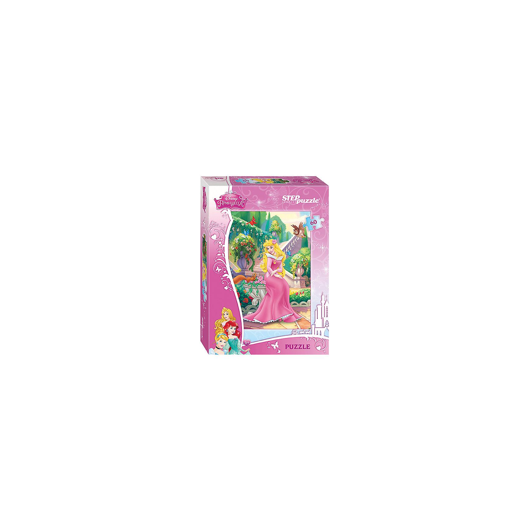 Степ Пазл Пазл Спящая красавица, 60 деталей, Step Puzzle пазл для раскрашивания арт терапия царь зверей origami 360 деталей