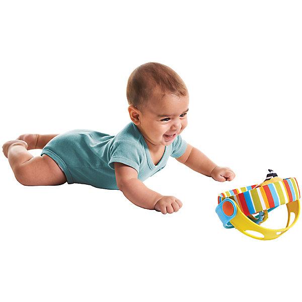 Игрушка Вращающийся бубен, Tiny LoveДругие музыкальные инструменты<br>Развивающая игрушка Вращающийся бубен предназначен для игры на животике, развития мелкой моторики, а также в качестве мячика. <br>Яркая расцветка привлечет внимание малыша, а разнообразная текстура позволит развить тактильные ощущения. <br>Игрушка оснащена: безопасным зеркальцем, шуршащими элементами, а также радужной анимацией: это позволяет малышу тренировать глазные мышцы и фокусировать зрение. <br>Игрушку можно катить как мячик, установить как подставку с кольцами, а также посредством двигающихся колец и звукового наполнения - использовать в виде музыкального инструмента (замечательный звонкий бубен).<br><br>Дополнительная информация:<br><br>- Материал: пластик, текстиль.<br>- Размер: 16 см.<br>- Безопасное зеркальце, погремушки, прорезыватели. <br><br>Игрушку Вращающийся бубен, Tiny Love, можно купить в нашем магазине.<br>Ширина мм: 165; Глубина мм: 160; Высота мм: 180; Вес г: 371; Возраст от месяцев: 0; Возраст до месяцев: 12; Пол: Унисекс; Возраст: Детский; SKU: 4589906;