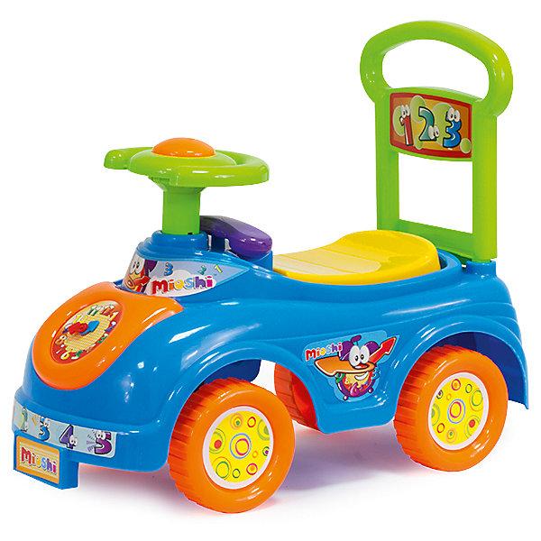 Автомобиль-каталка Часики, MioshiМашинки-каталки<br>Толокар – это современная машинка-каталка, которая предназначена для детей от 1 года и подходит для игр дома и на улице. Машинка оснащена игровыми элементами, которые помогут развить тактильные ощущения и визуально-звуковое восприятие малыша. Наличие спинки обеспечит удобное положение ребёнка во время игры, а яркий дизайн будет радовать не только детей, но и взрослых!<br><br>Дополнительная информация:<br> <br>- Привлекательный дизайн<br>- Функциональные элементы: спинка-ручка, сиденье-багажник<br>- Развивающая игровая панель<br>- Упаковка на русском языке<br>- Размеры упаковки: 48 x 22 x 40 см<br><br>Автомобиль-каталку Часики, Mioshi можно купить в нашем магазине.<br>Ширина мм: 480; Глубина мм: 220; Высота мм: 400; Вес г: 1647; Возраст от месяцев: 12; Возраст до месяцев: 36; Пол: Унисекс; Возраст: Детский; SKU: 4590207;