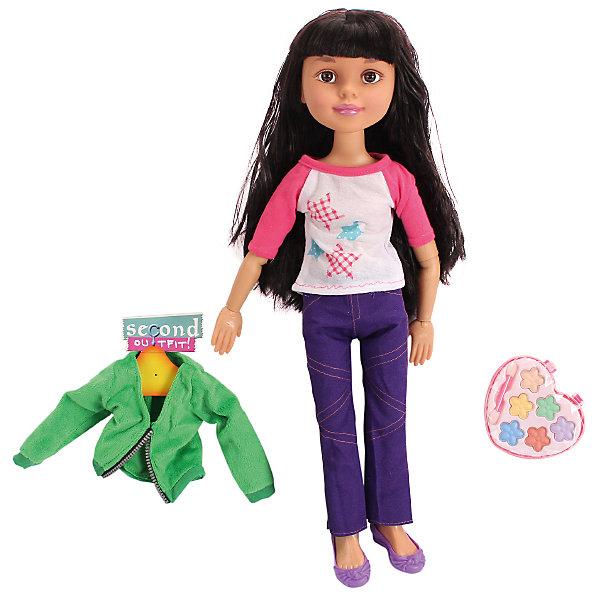 Кукла Макияж: Гламурная девчонка, 45,5 см, с аксессуарами, DollyToyКуклы<br>Яркая модница ждёт встречи с новыми подружками! Эту куклу можно наряжать и делать ей настоящий макияж, косметика и стильные вещи есть в комплекте. Благодаря шарнирам можно менять положение ручек и ножек.<br> <br>Дополнительная информация:<br><br>Высота куклы: 45,5 см<br>В комплекте: кукла, косметика, одежда<br><br>Куклу Макияж: Гламурная девчонка, 45,5 см, с аксессуарами, DollyToy можно купить в нашем магазине.<br><br>Ширина мм: 370<br>Глубина мм: 110<br>Высота мм: 355<br>Вес г: 1083<br>Возраст от месяцев: 72<br>Возраст до месяцев: 1188<br>Пол: Женский<br>Возраст: Детский<br>SKU: 4590208