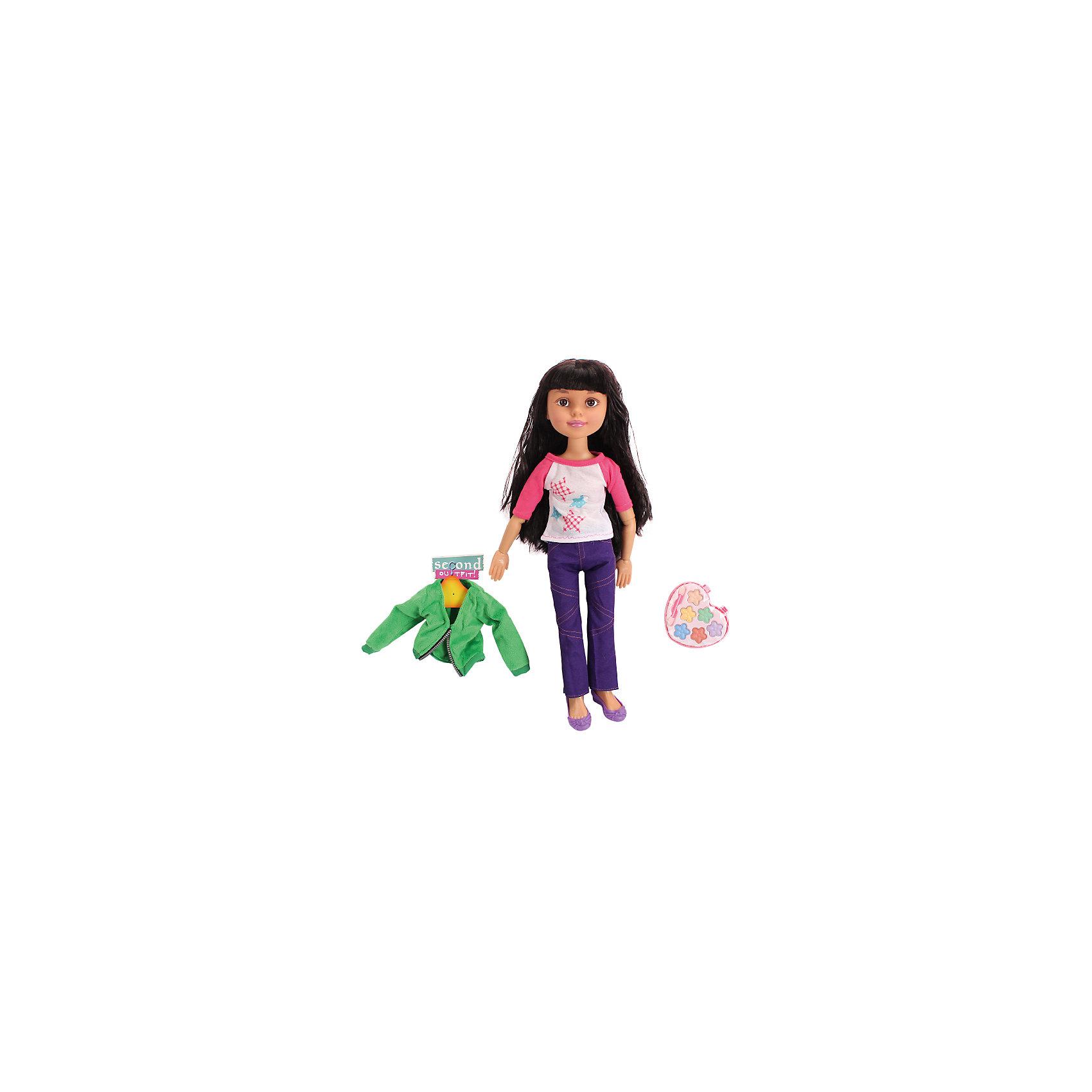 Кукла Макияж: Гламурная девчонка, 45,5 см, с аксессуарами, DollyToyКлассические куклы<br>Яркая модница ждёт встречи с новыми подружками! Эту куклу можно наряжать и делать ей настоящий макияж, косметика и стильные вещи есть в комплекте. Благодаря шарнирам можно менять положение ручек и ножек.<br> <br>Дополнительная информация:<br><br>Высота куклы: 45,5 см<br>В комплекте: кукла, косметика, одежда<br><br>Куклу Макияж: Гламурная девчонка, 45,5 см, с аксессуарами, DollyToy можно купить в нашем магазине.<br><br>Ширина мм: 370<br>Глубина мм: 110<br>Высота мм: 355<br>Вес г: 1083<br>Возраст от месяцев: 72<br>Возраст до месяцев: 1188<br>Пол: Женский<br>Возраст: Детский<br>SKU: 4590208
