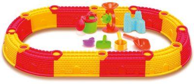 - —борна¤ песочница (овальна¤), с набором дл¤ песка, Hualian Toys