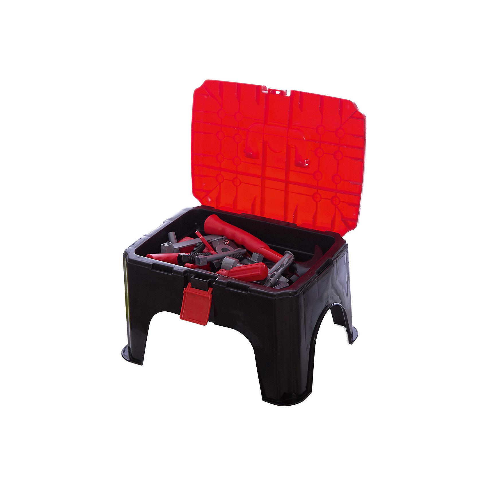 ALTACTO Игровой набор инструментов Верстак (35 предм.), ALTACTO altacto игровой набор инструментов своими руками
