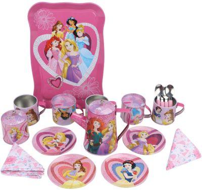 Disney Набор кофейной посуды Утро принцессы (22 предм., металл.), Принцессы Дисней